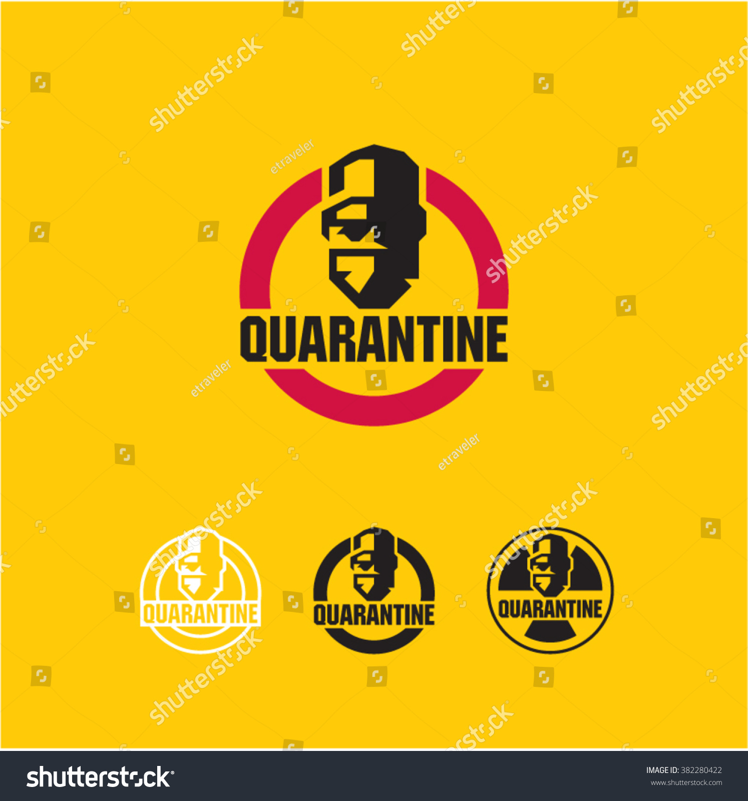 Quarantine virus surgeon doctor icon protective stock vector quarantine virus surgeon doctor icon protective mask sign biohazard quarantine area biocorpaavc Image collections