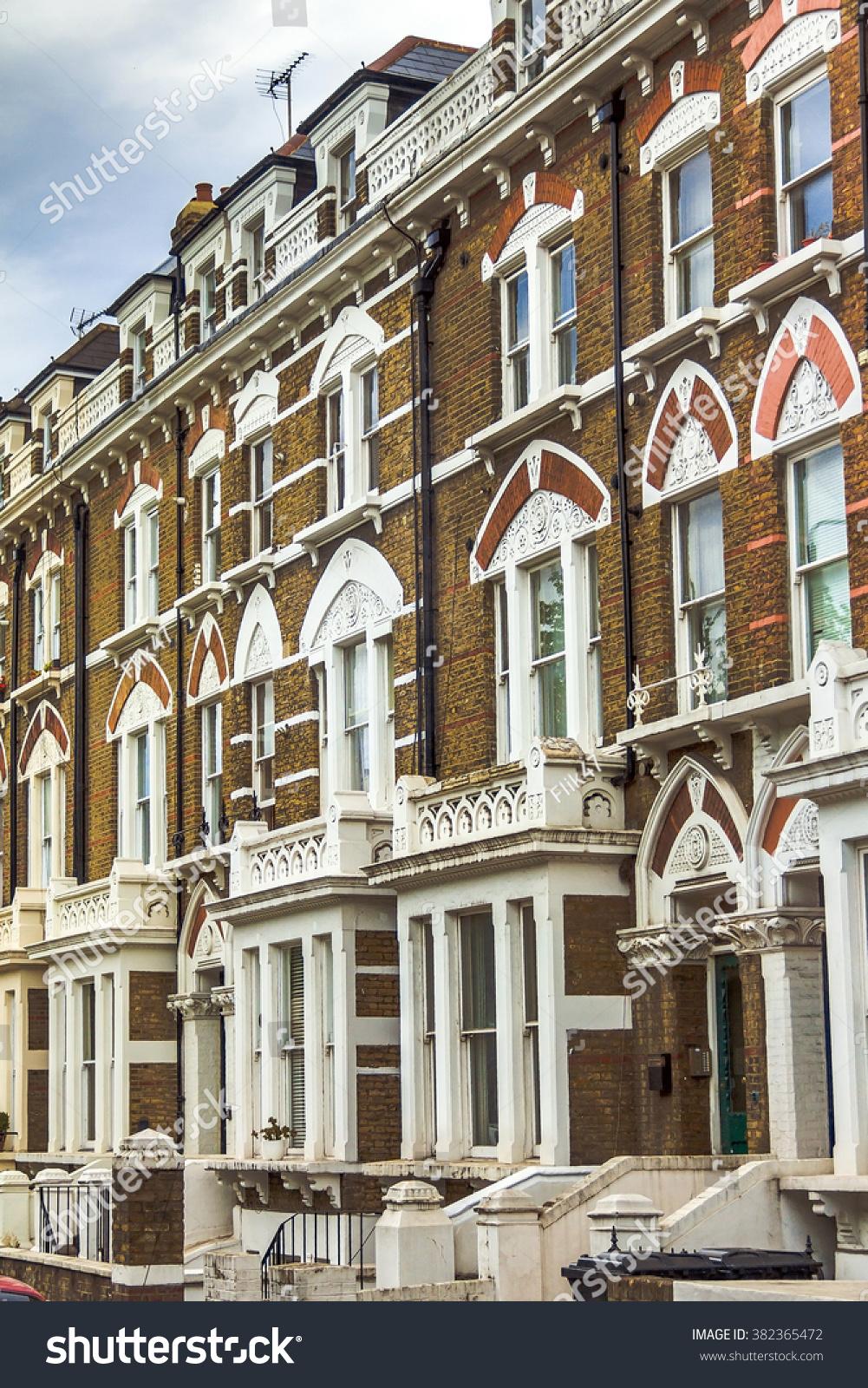 london uk june 5 2015 old apartment red brick houses in kensington - Brick Apartment 2015