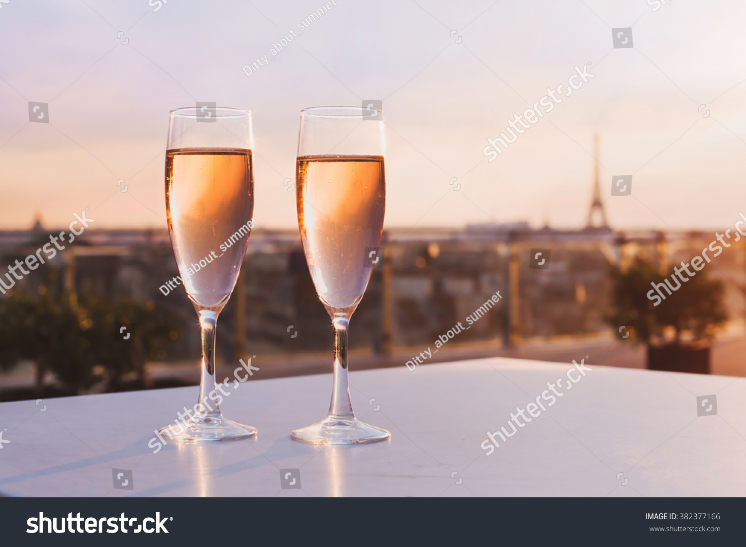 Champagne Tower Glasses