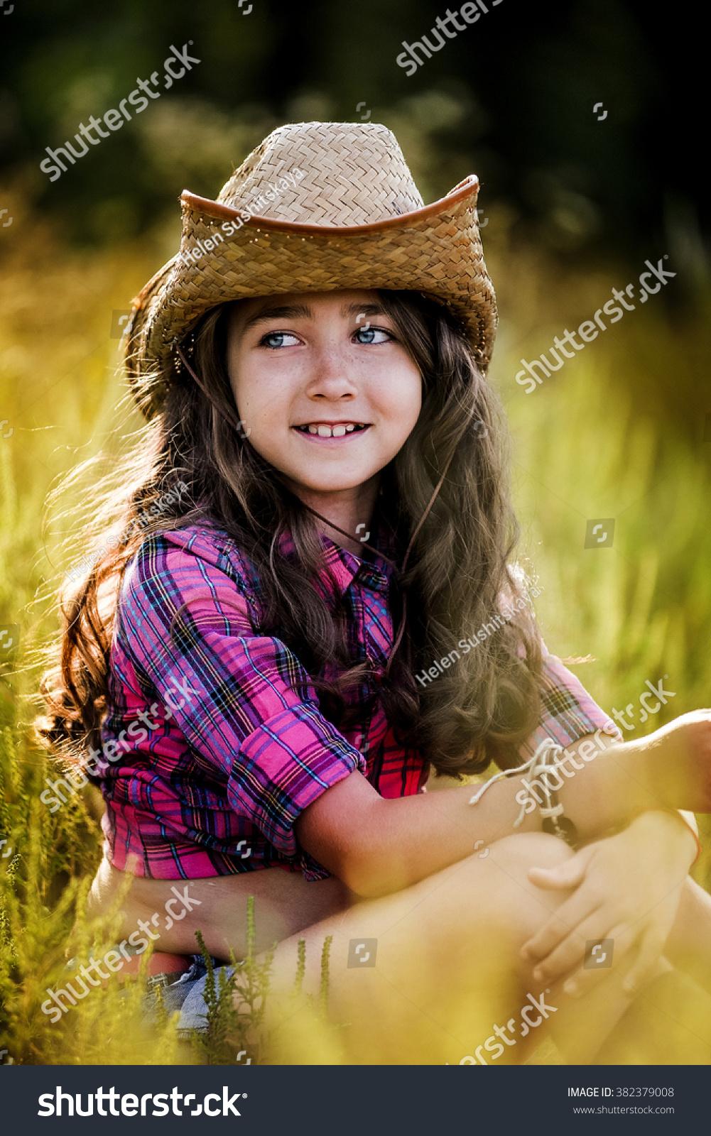 dc5c70345005d Cute Child Having Fun Outdoors Little Stock Photo (Edit Now ...