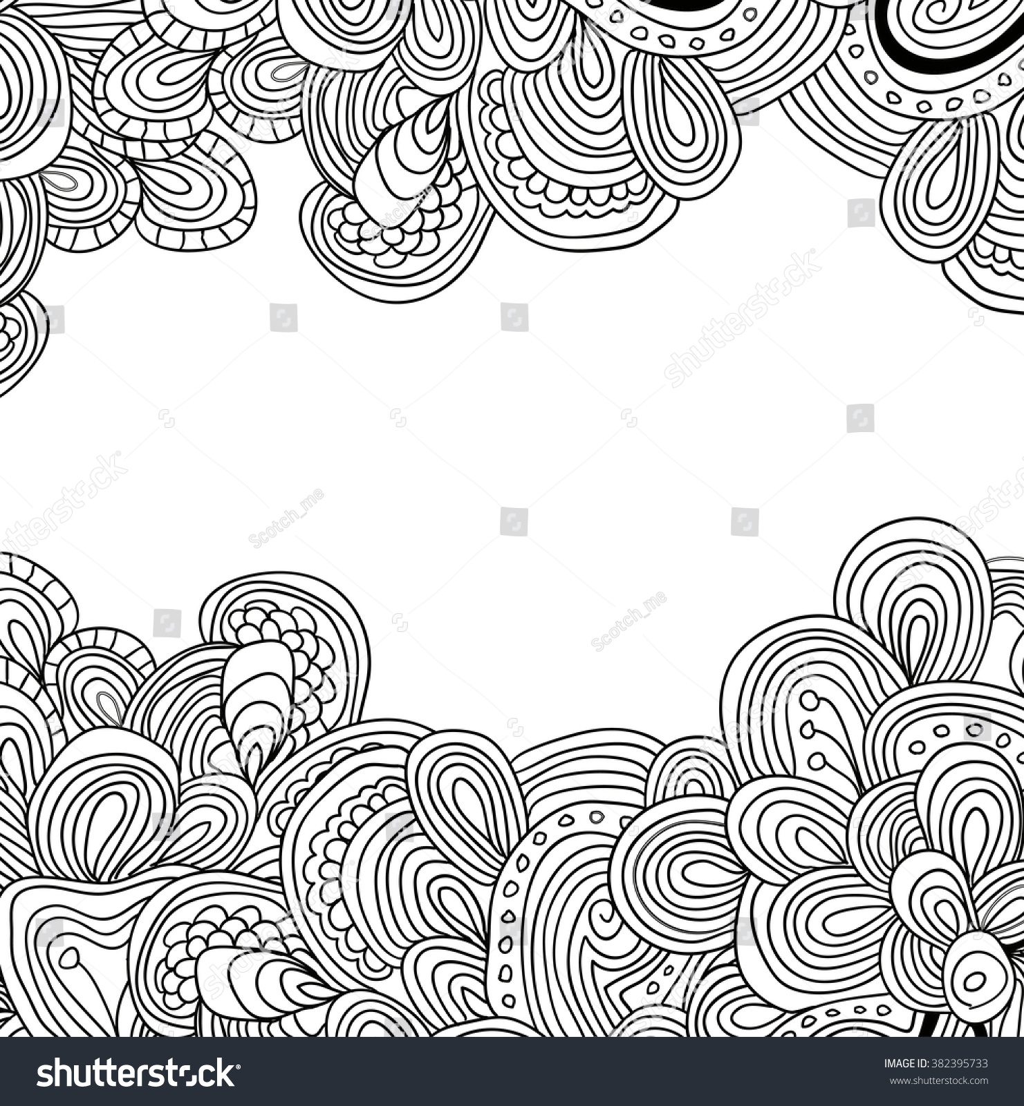 Coloring Book Page For Adults Mandala With Vintage Flowers Pattern Zendala Zentagle