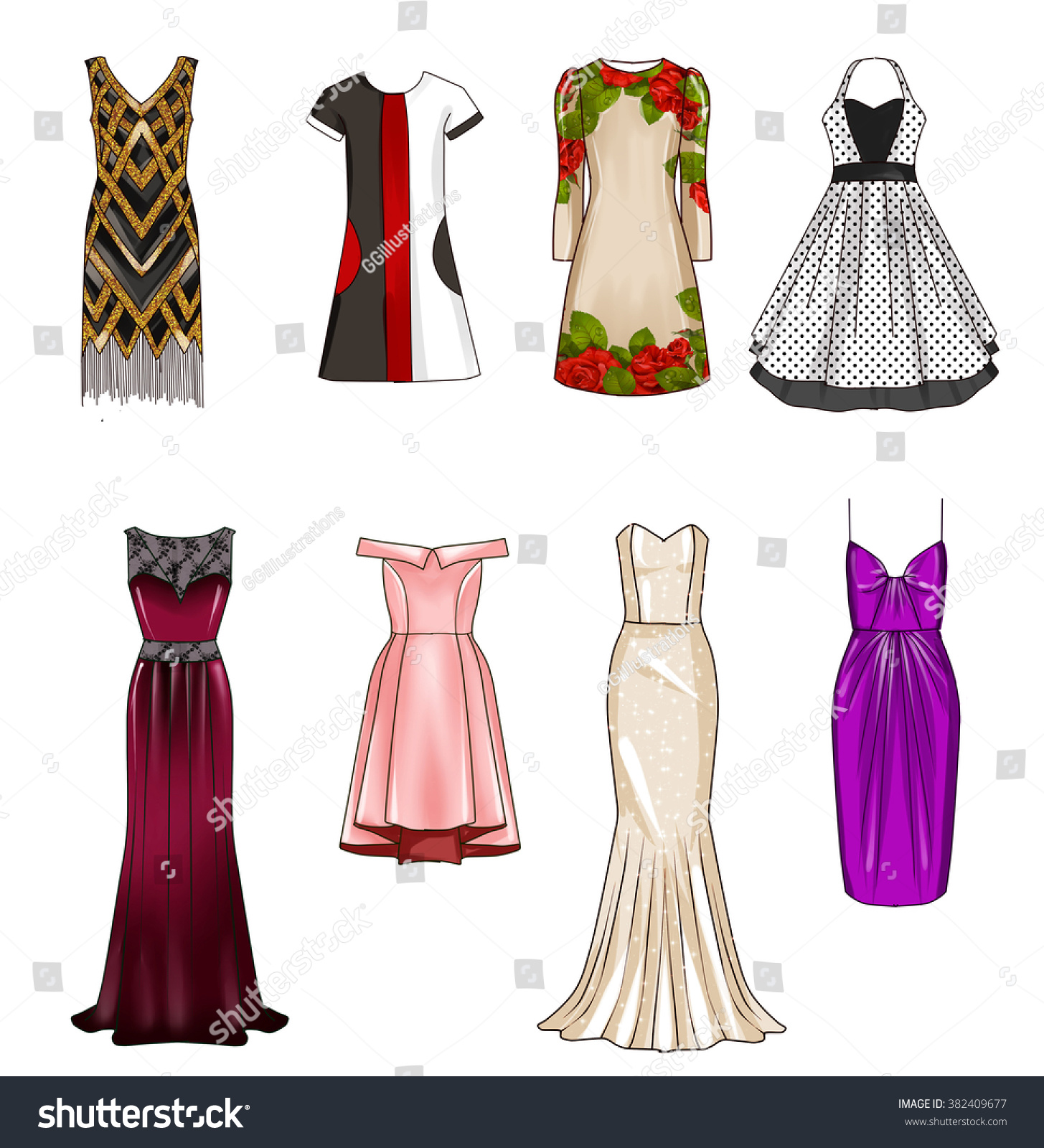 Looks - Sketches Fashion formal video