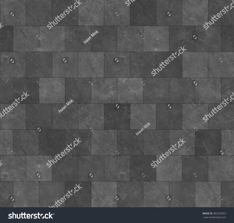 dark stone tile texture. Seamless Dark Grey Marble Stone Tile Texture with Black Joint Line Stock Photo 382529053