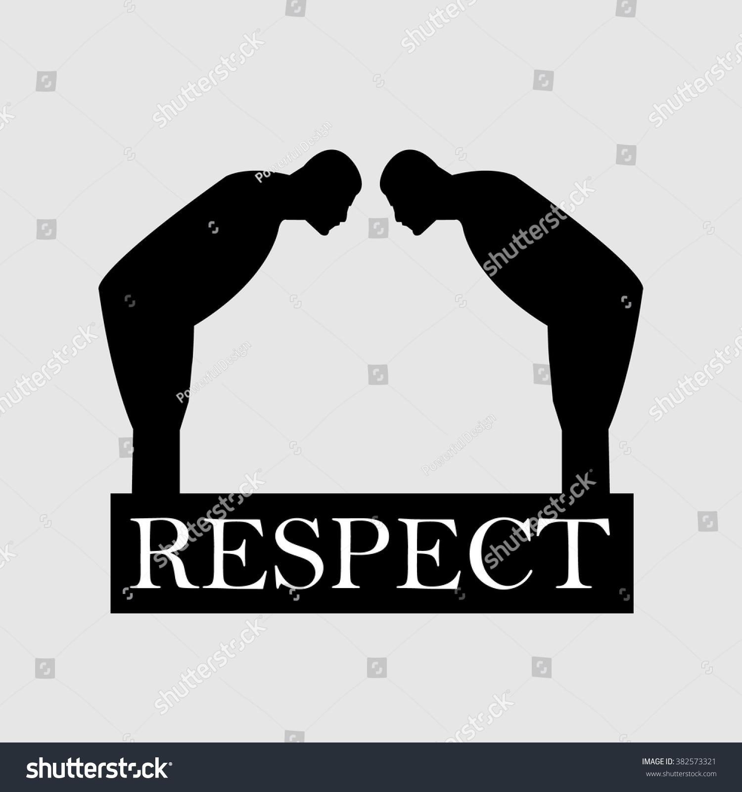 Respect Symbol Stock Vector 382573321 : Shutterstock