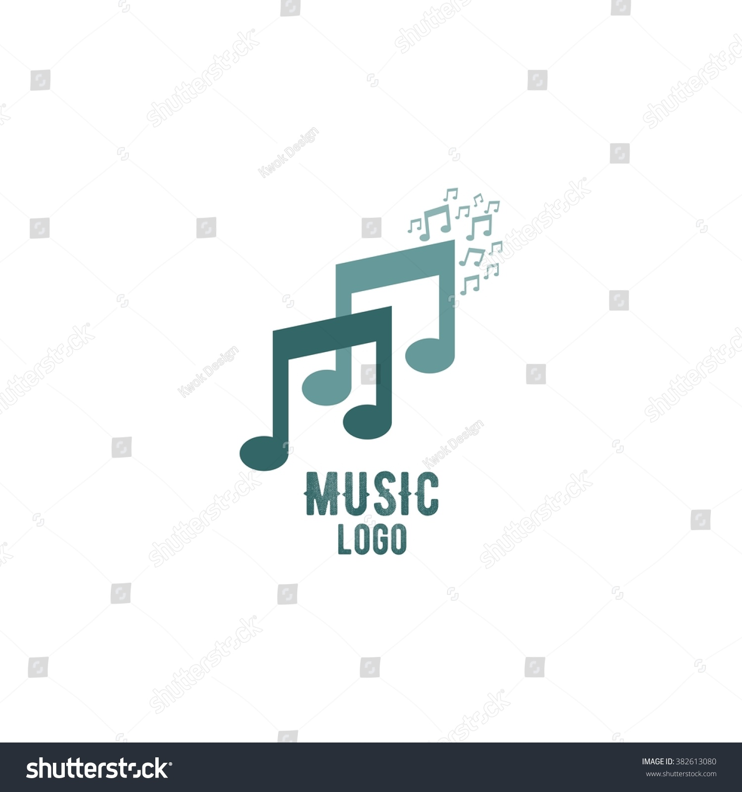 Best Business Logo Design App: Music Logo Design Template Vector Illustration Stock Vector (Royalty rh:shutterstock.com,Design