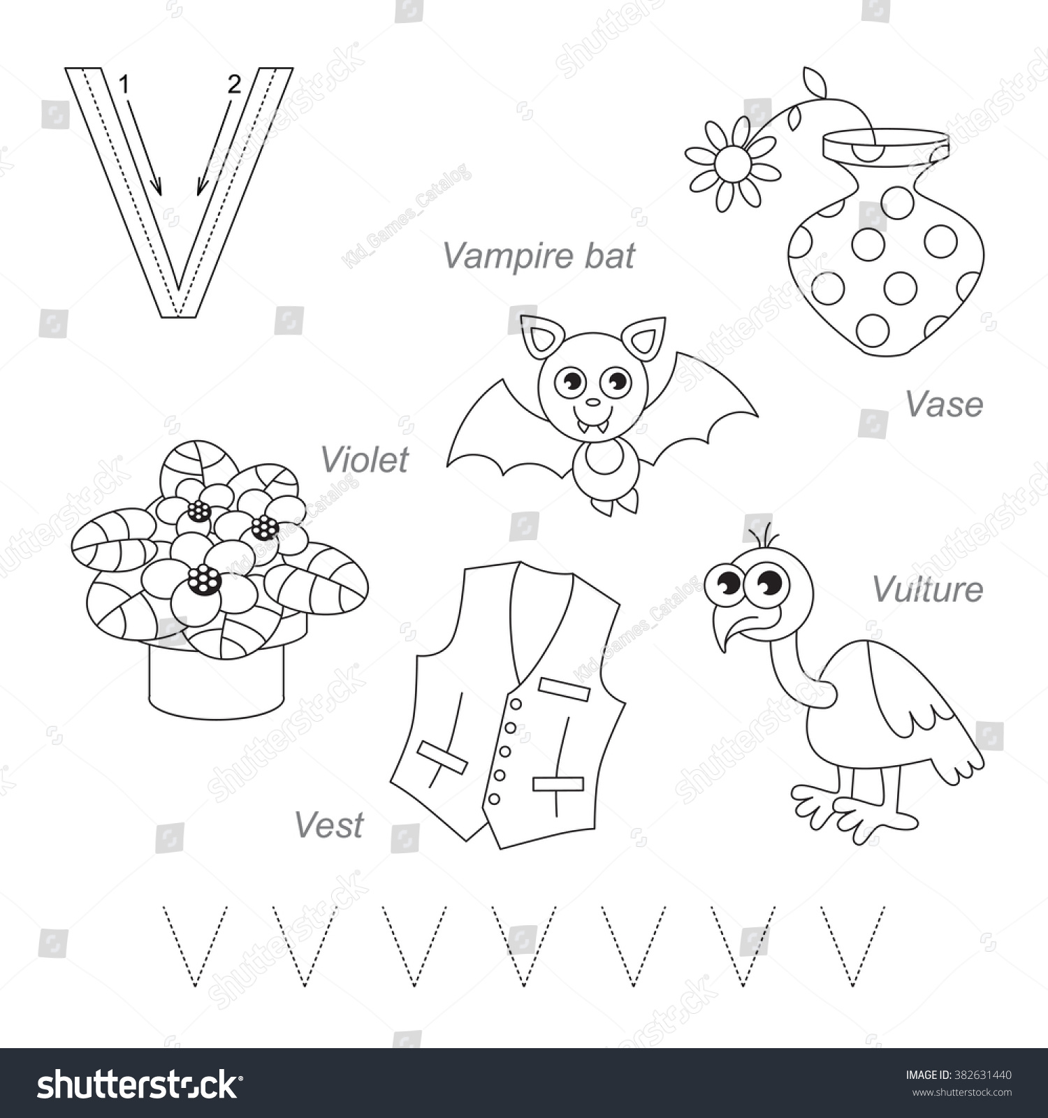 Tracing Worksheet For Children. Full English Alphabet From