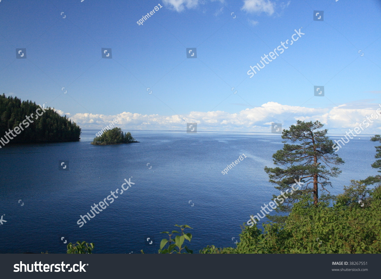 The biggest lake in europe