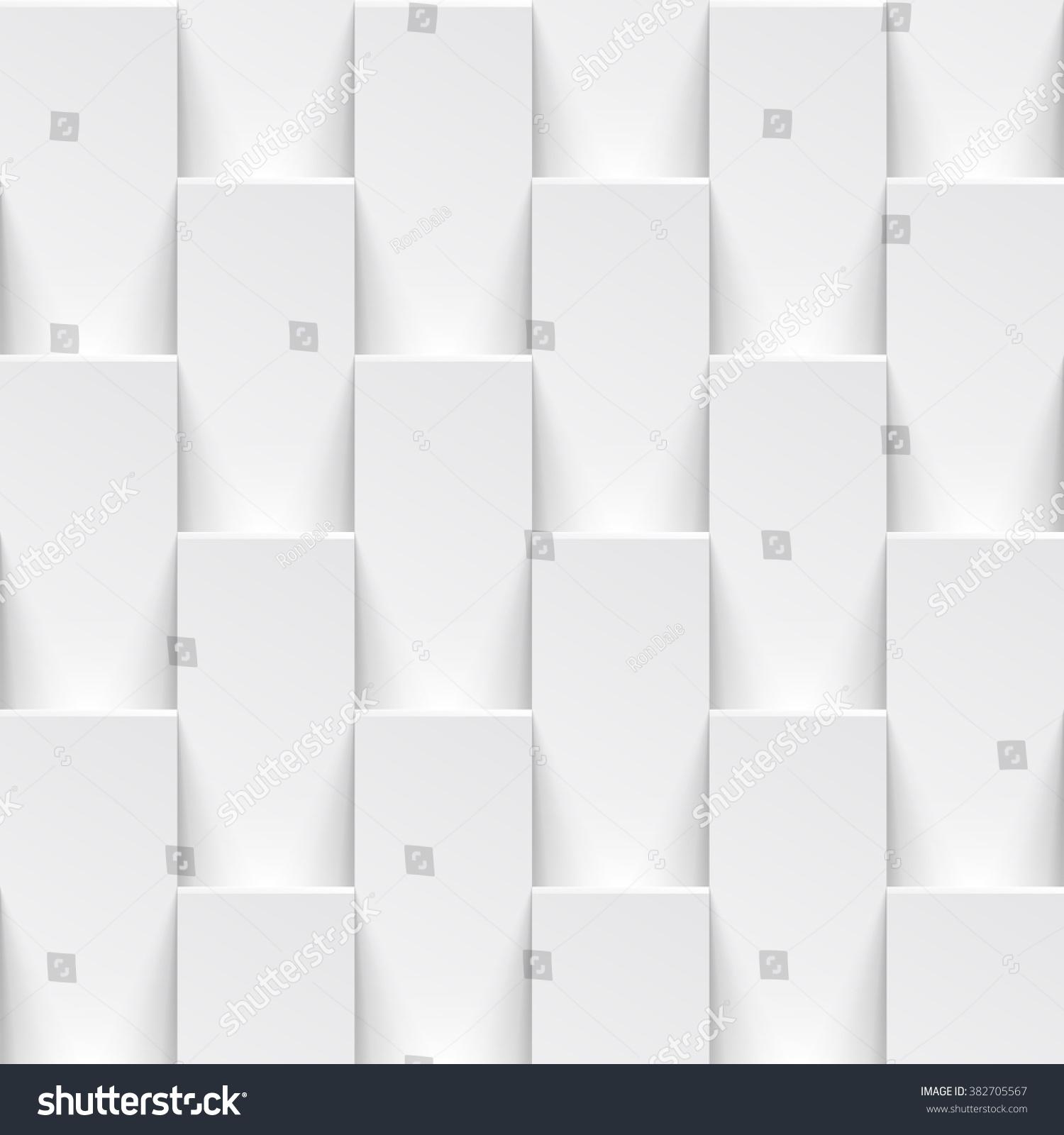 Vector White Tile Pattern Panel Background Stock Vector (Royalty ...