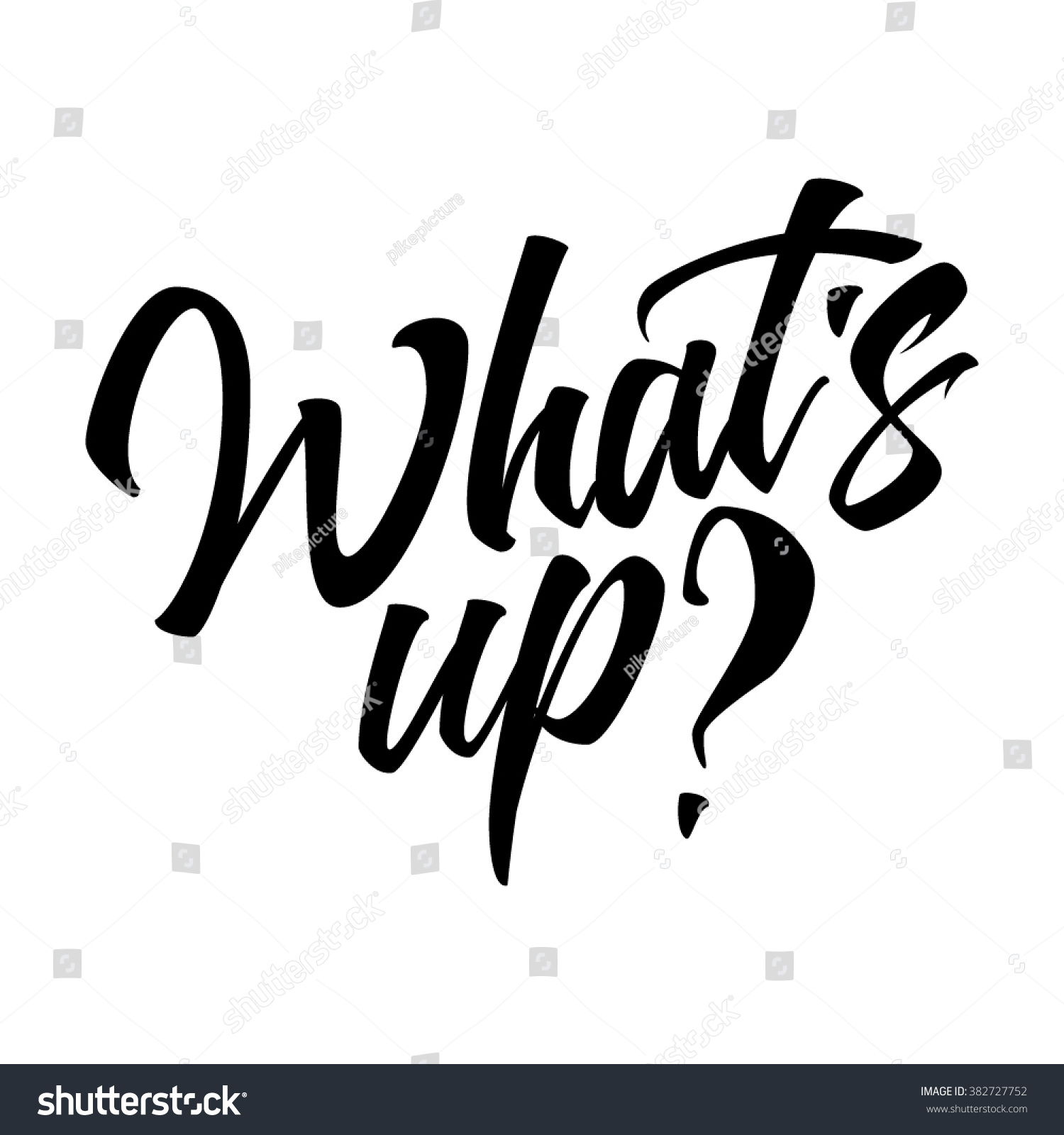 whats black hand lettering text isolated stock vector 382727752 shutterstock