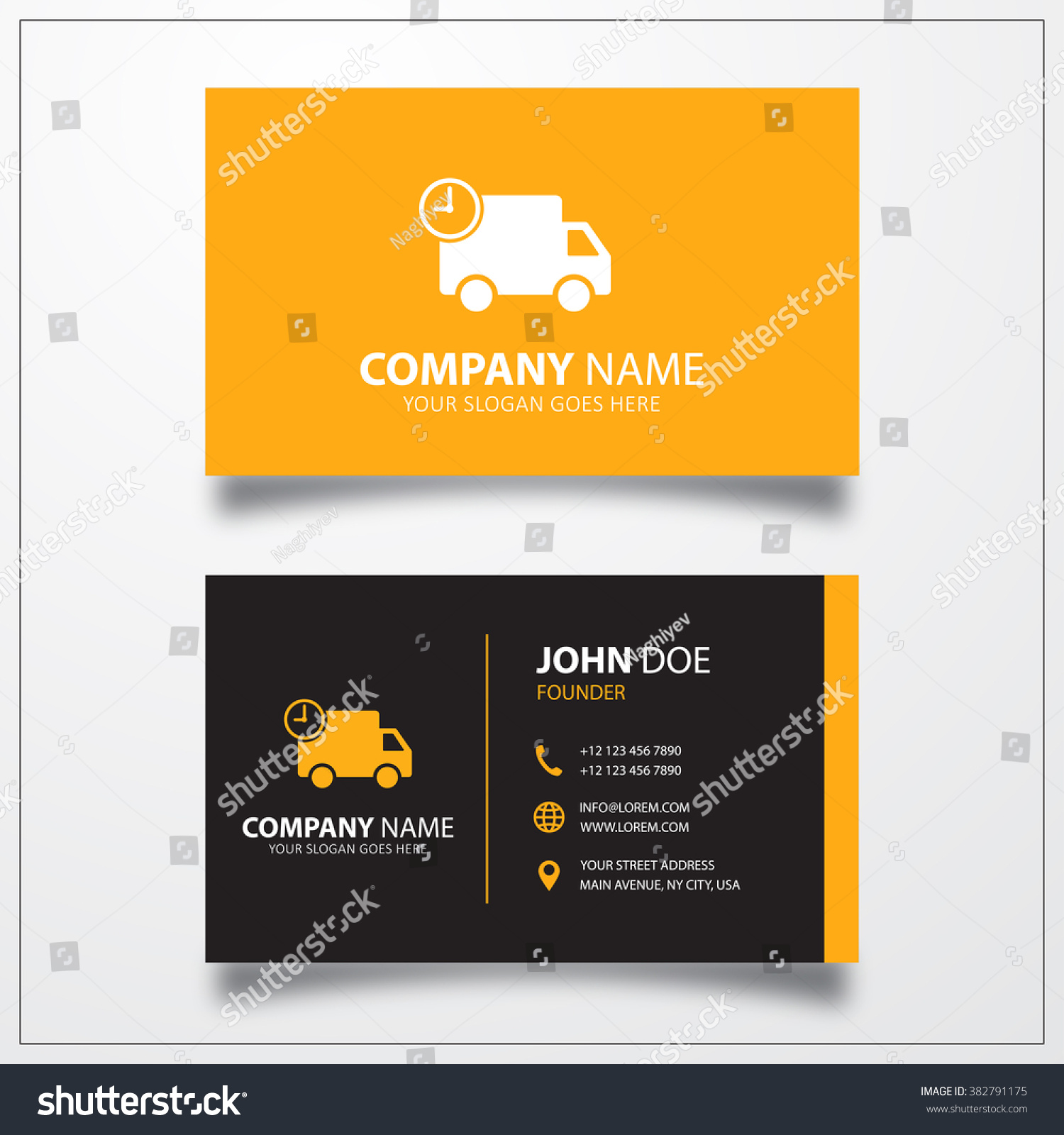 Unique Photograph Of Quick Delivery Business Cards - Business ...