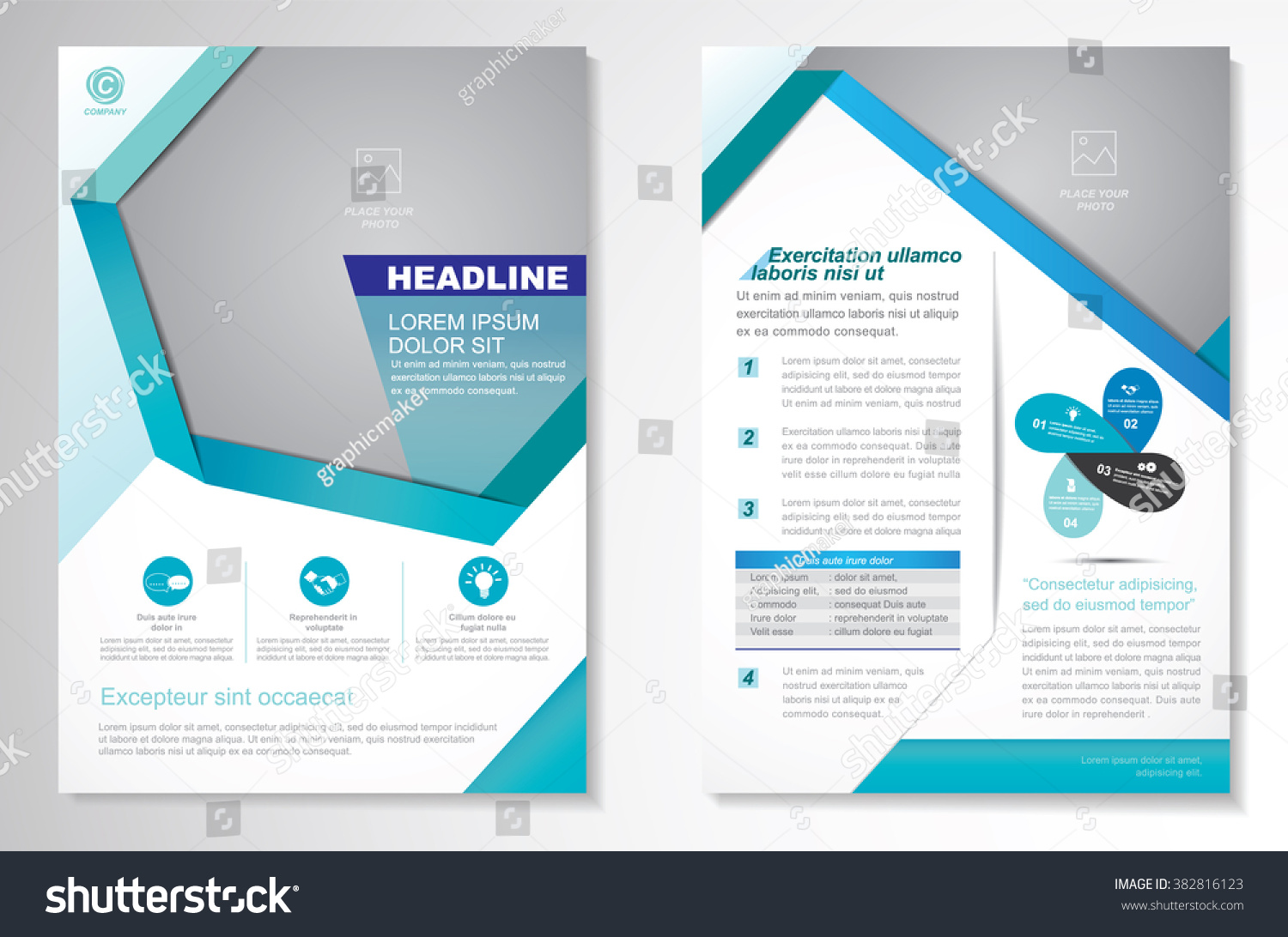 flyer template size