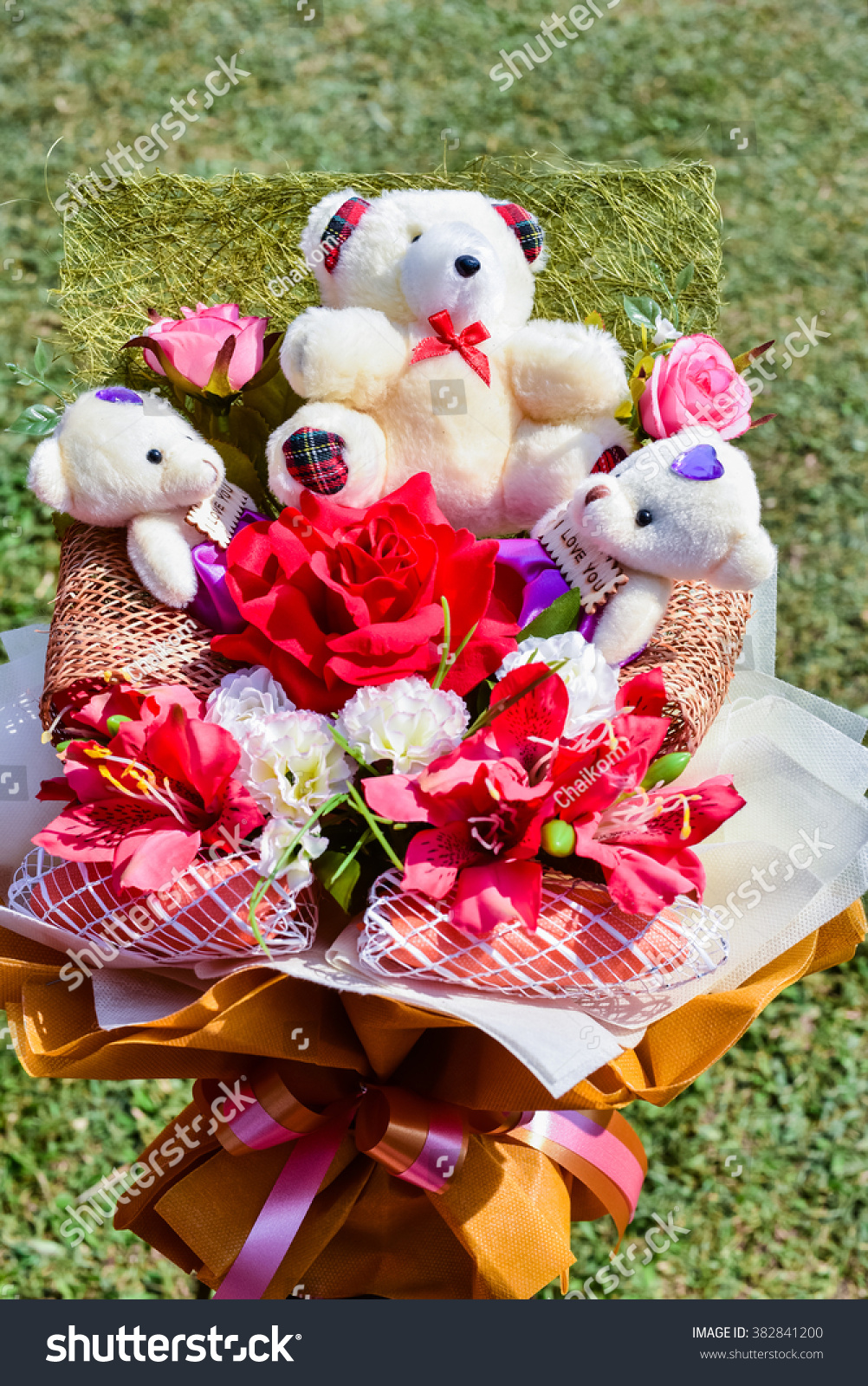 Beautiful Flower Lovely Doll Stock Photo Edit Now 382841200