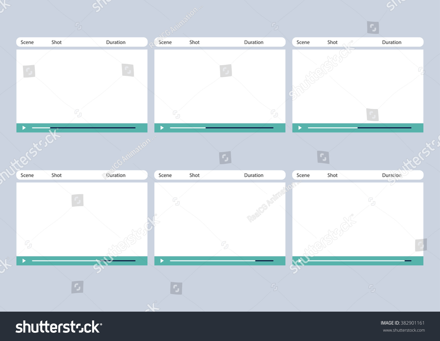 Professional Of Media Video Player HD 1920 X 1080 16:9 Storyboard Template  Is Convenience