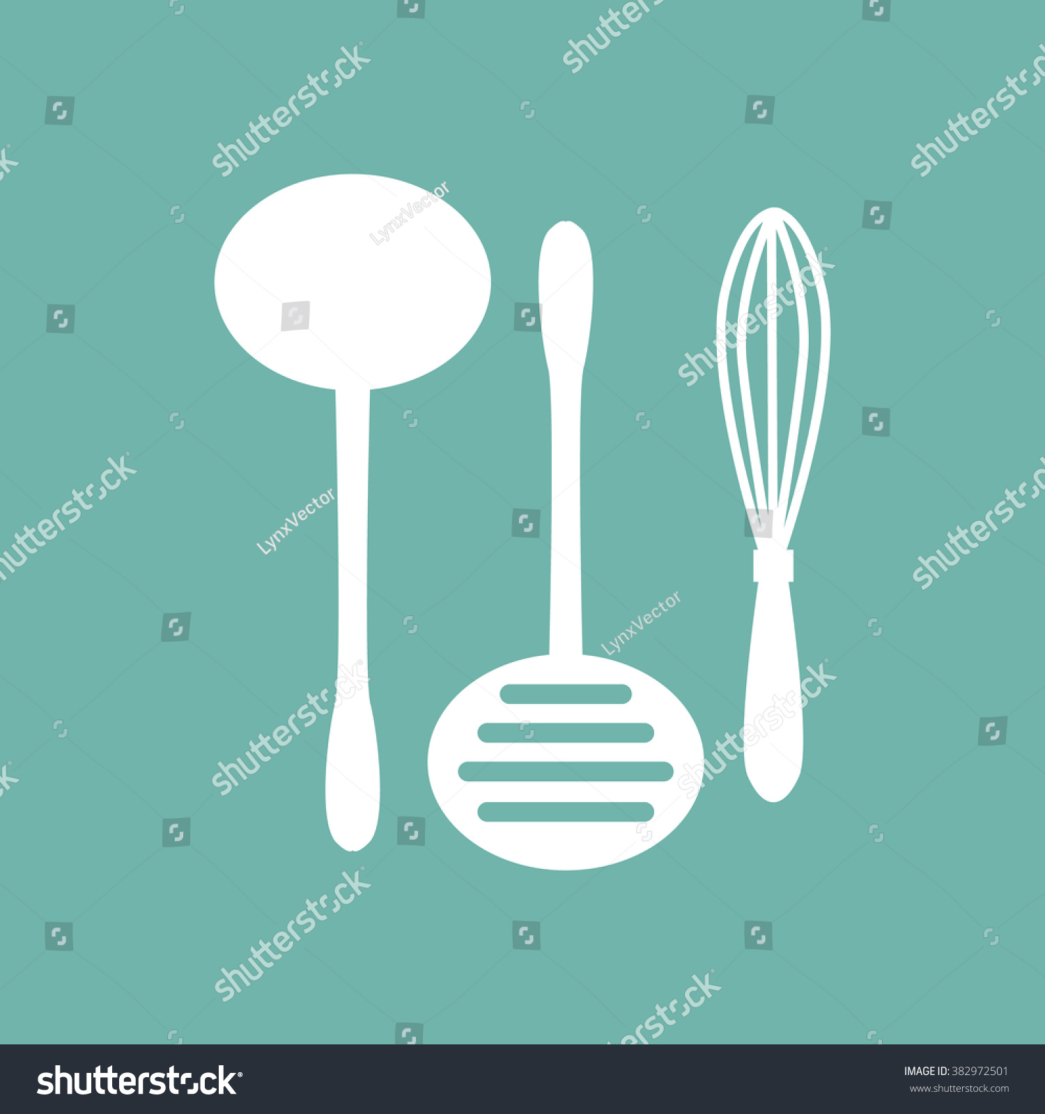 Kitchen Tools Icon Stock Vector (Royalty Free) 382972501 - Shutterstock