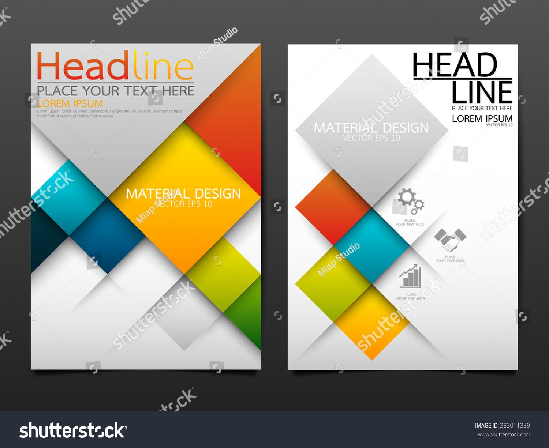 Business Brochure Flyer Design Template Vectorgeometric – Geometric Flyer Template