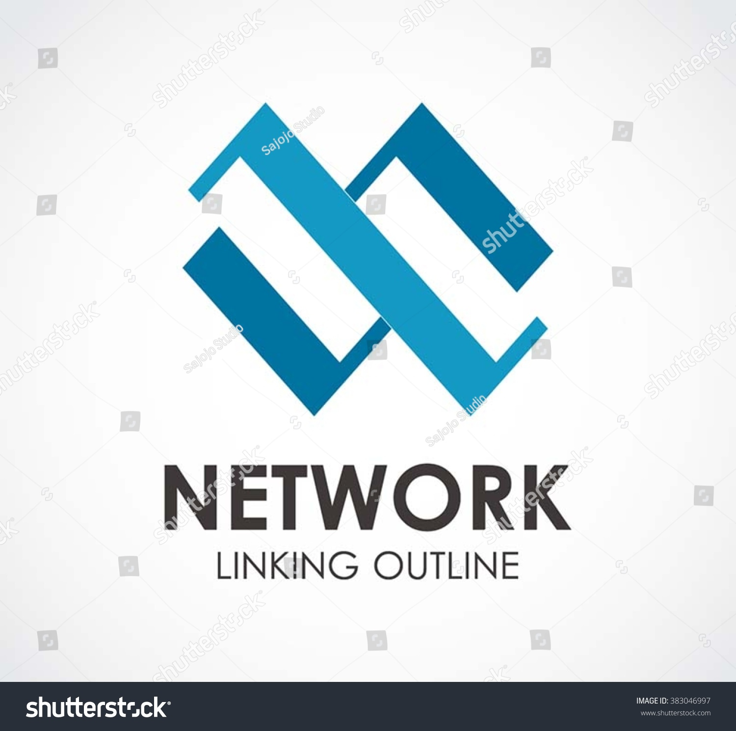 Network Linking Ribbon Chain Abstract Vector Vector – Linking Agreement Template