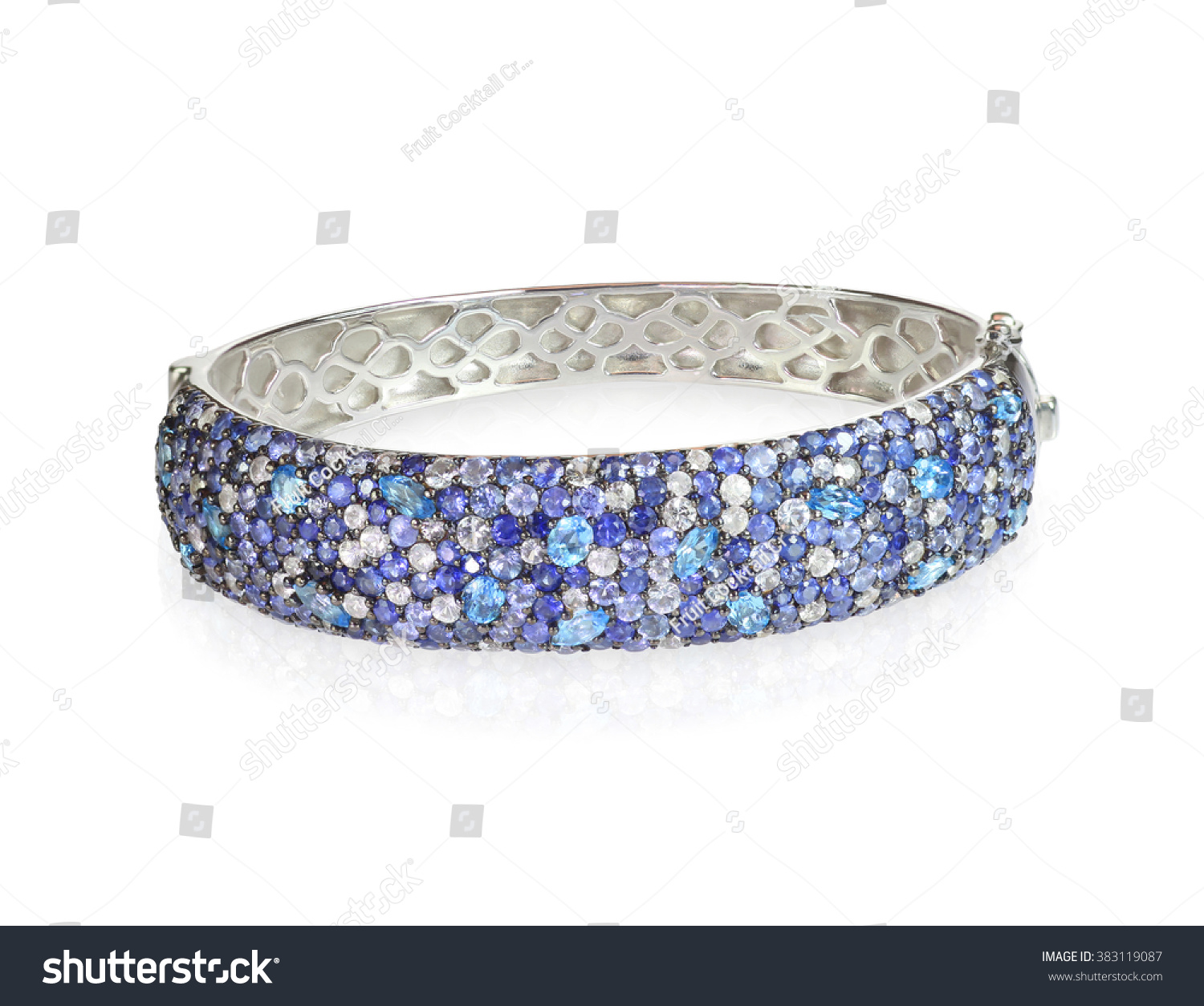 diamond bangle ladies blue next gold white bangles sapphire diamonds previous tennis and bracelet