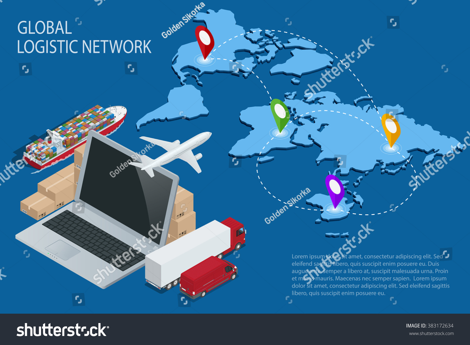 logistic network Medical logistic solutions specializes in creating efficient same day courier routes for the proper handling of laboratory specimens, organs, blood.