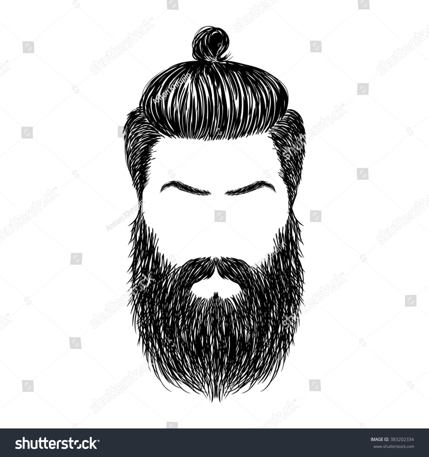 Hand Drawn Brutal Hair...