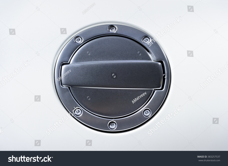 Automotive Gas Cap : Fuel tank cover racing car gas stock photo