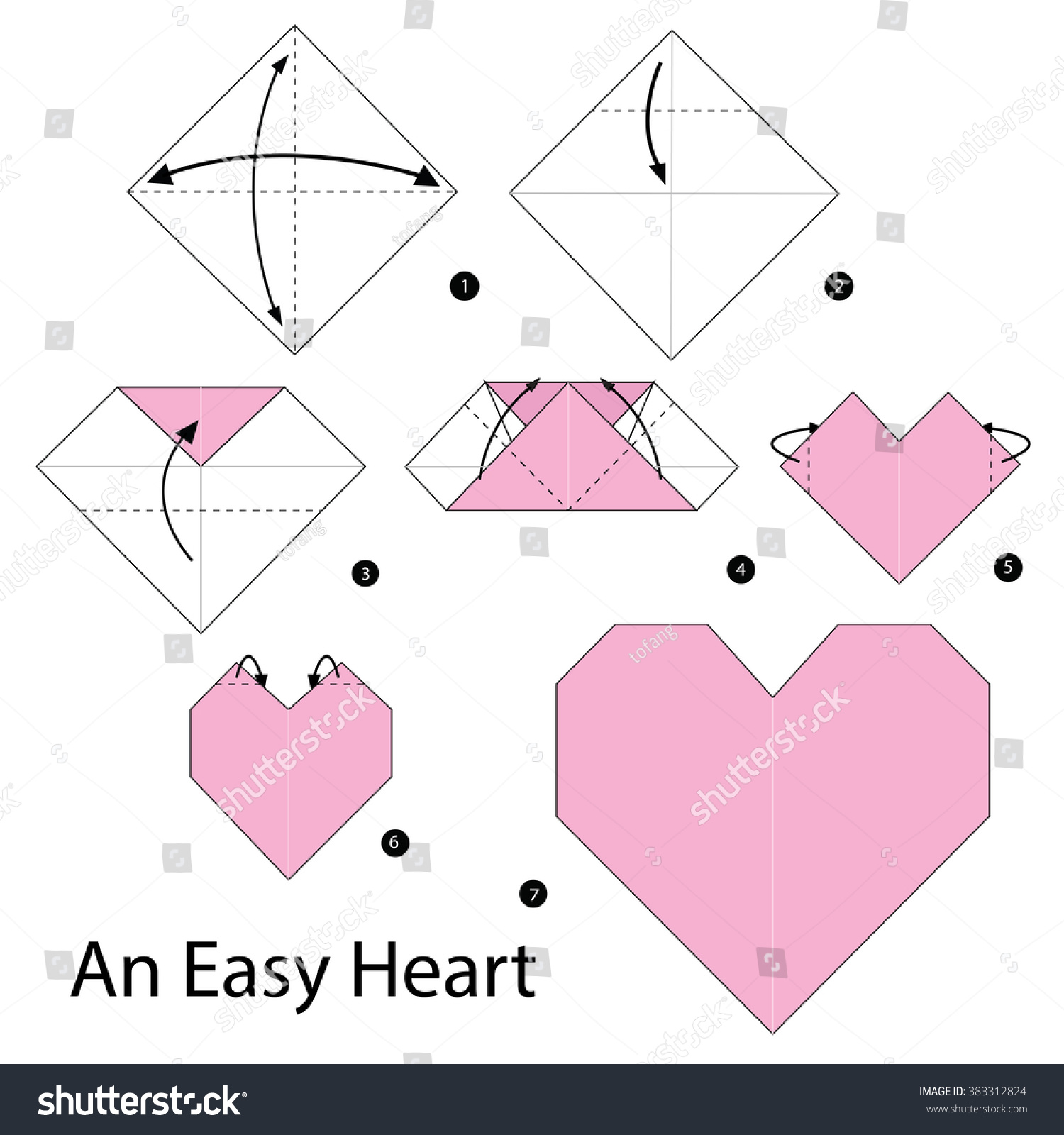 Step By Instructions How Make Stock Vector 383312824 Shutterstock