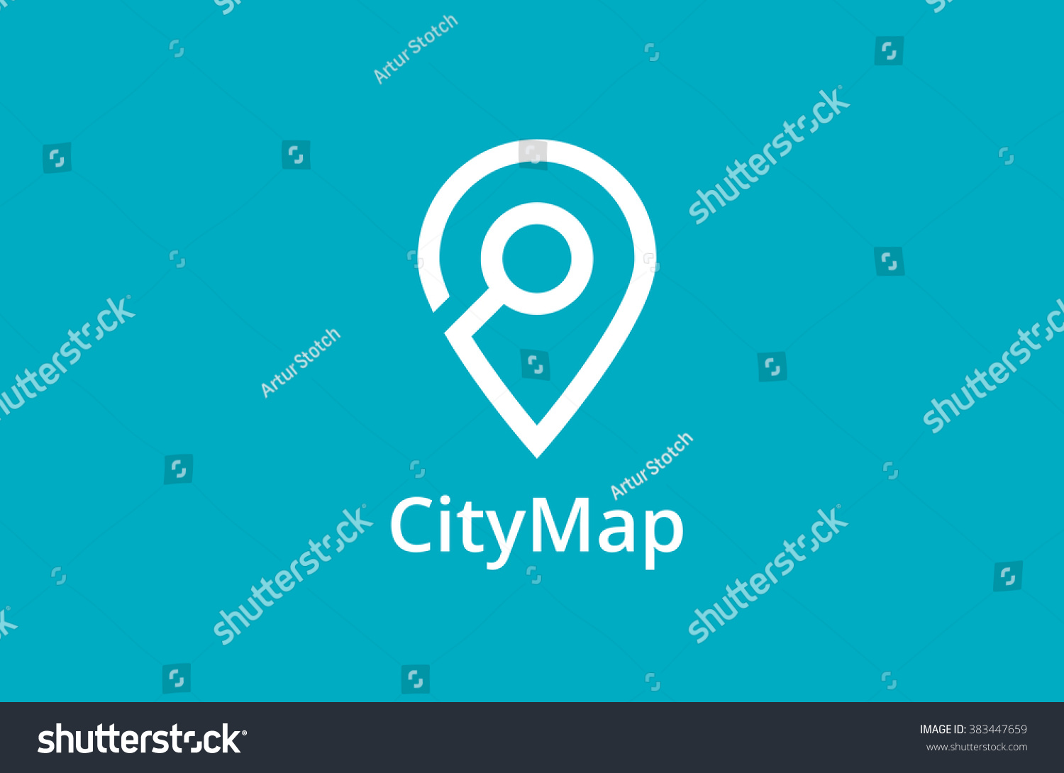Pin Location Map Free Vector Graphic On Pixabay: Map Point Location Logo City Locator Stock Vector