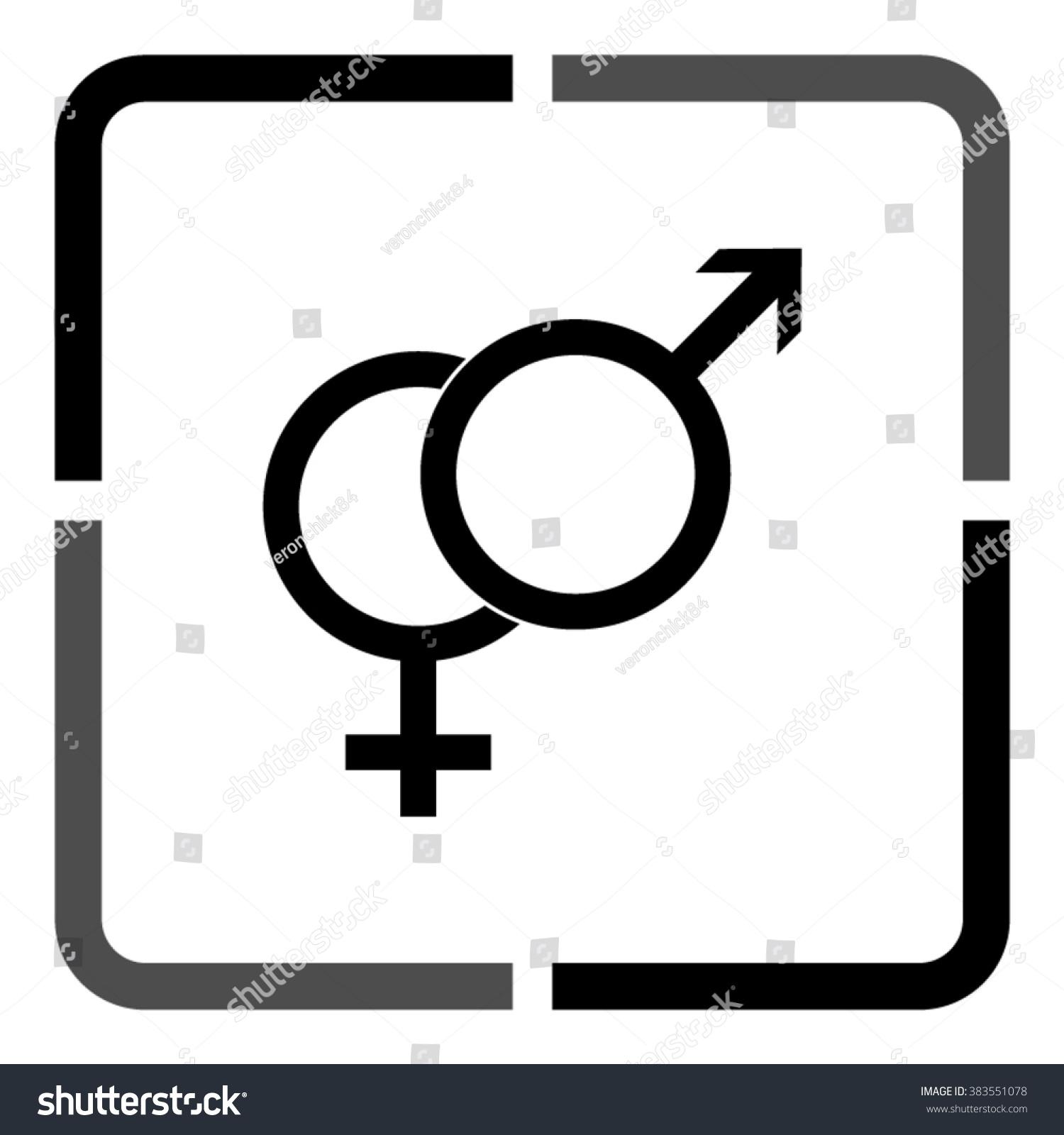 Male female symbols black vector icon stock vector 383551078 male female symbols black vector icon stock vector 383551078 shutterstock buycottarizona