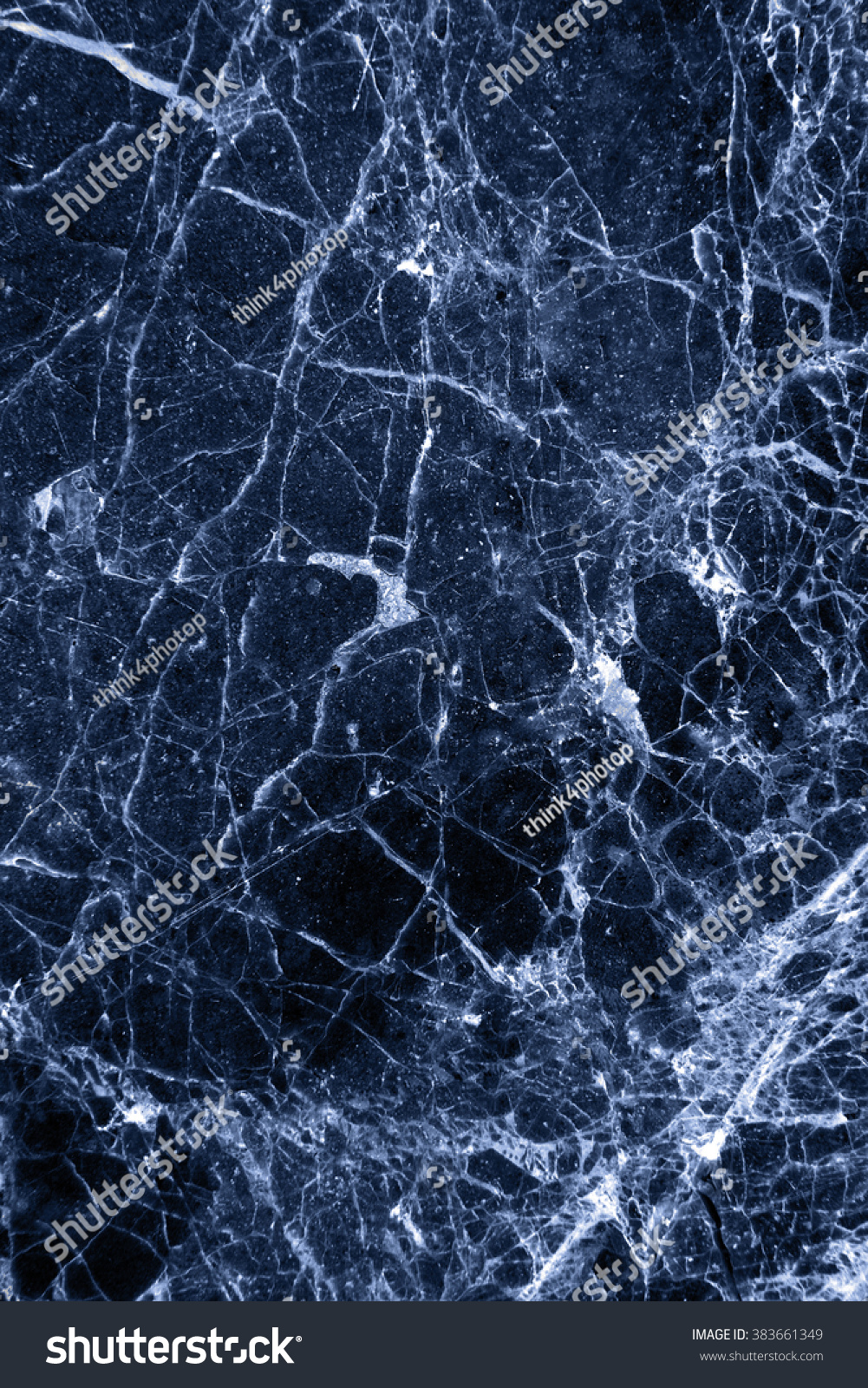 Dark Blue Marble : Marble patterned texture background surface dark stock