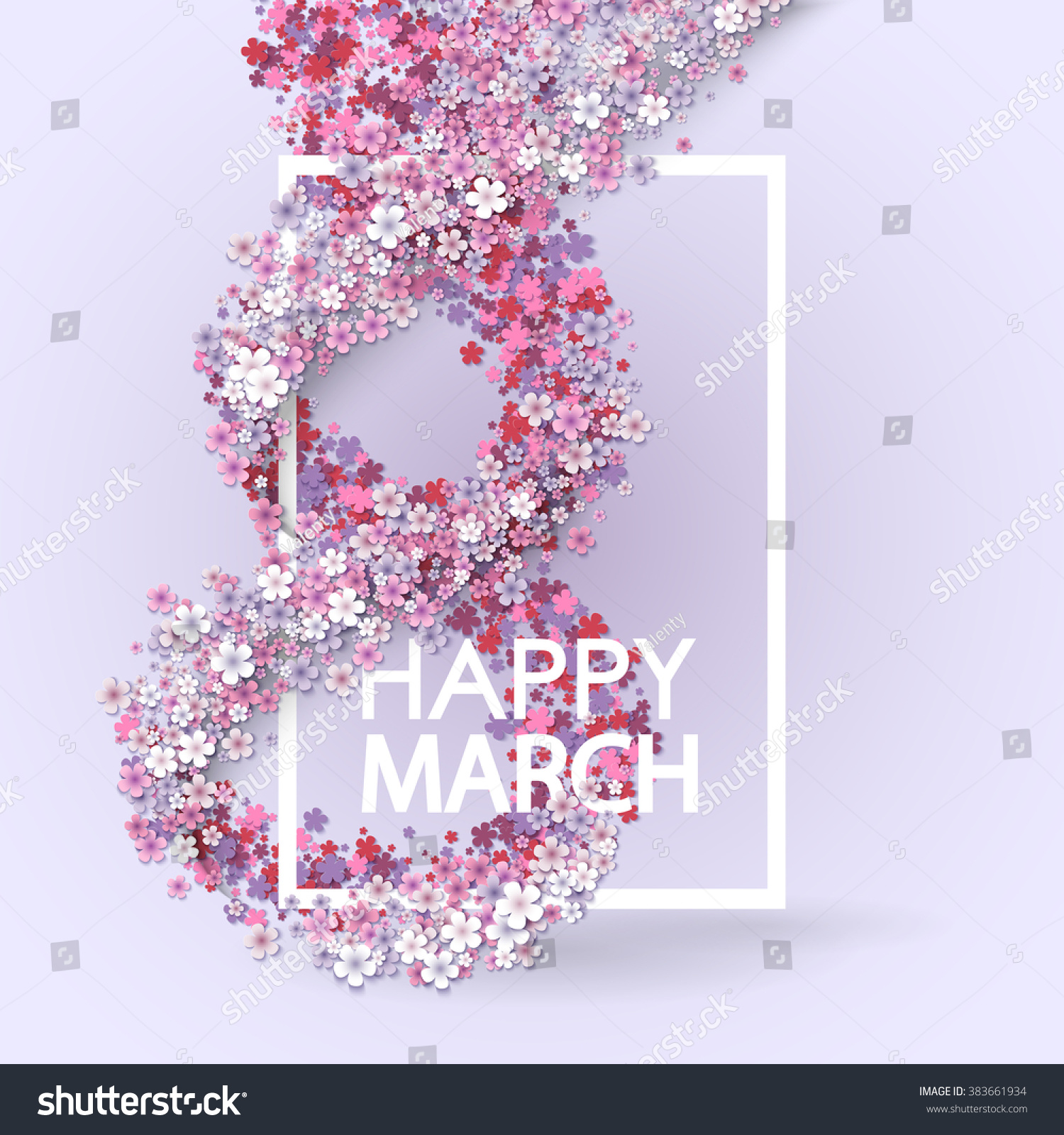 pink floral greeting card international happy stock vector pink floral greeting card international happy women s day 8 holiday background paper