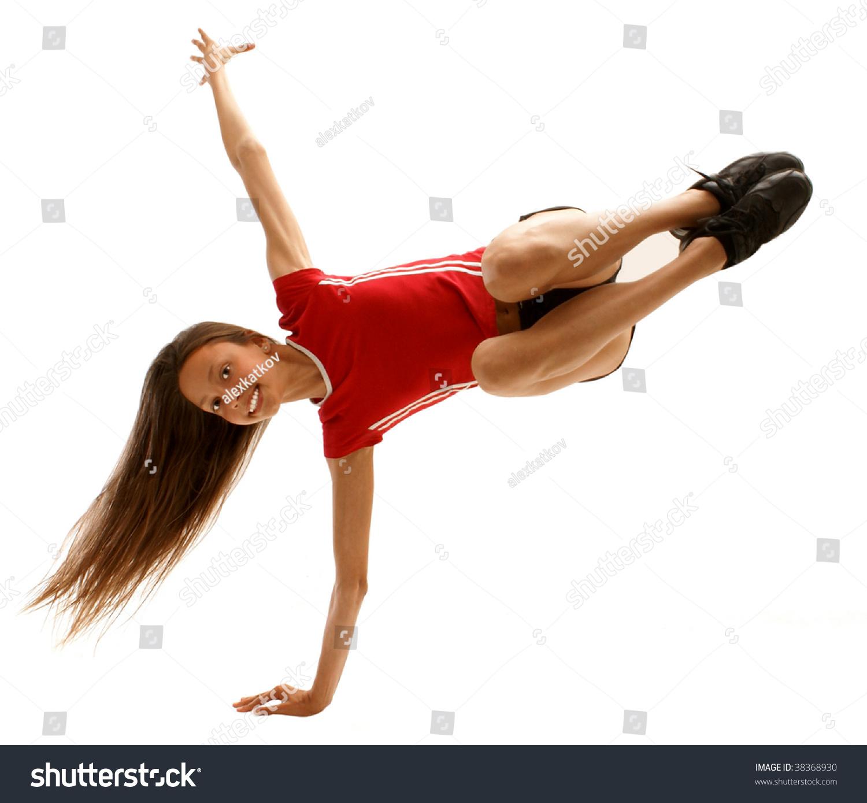 Flexible Gymnastic Pose 62