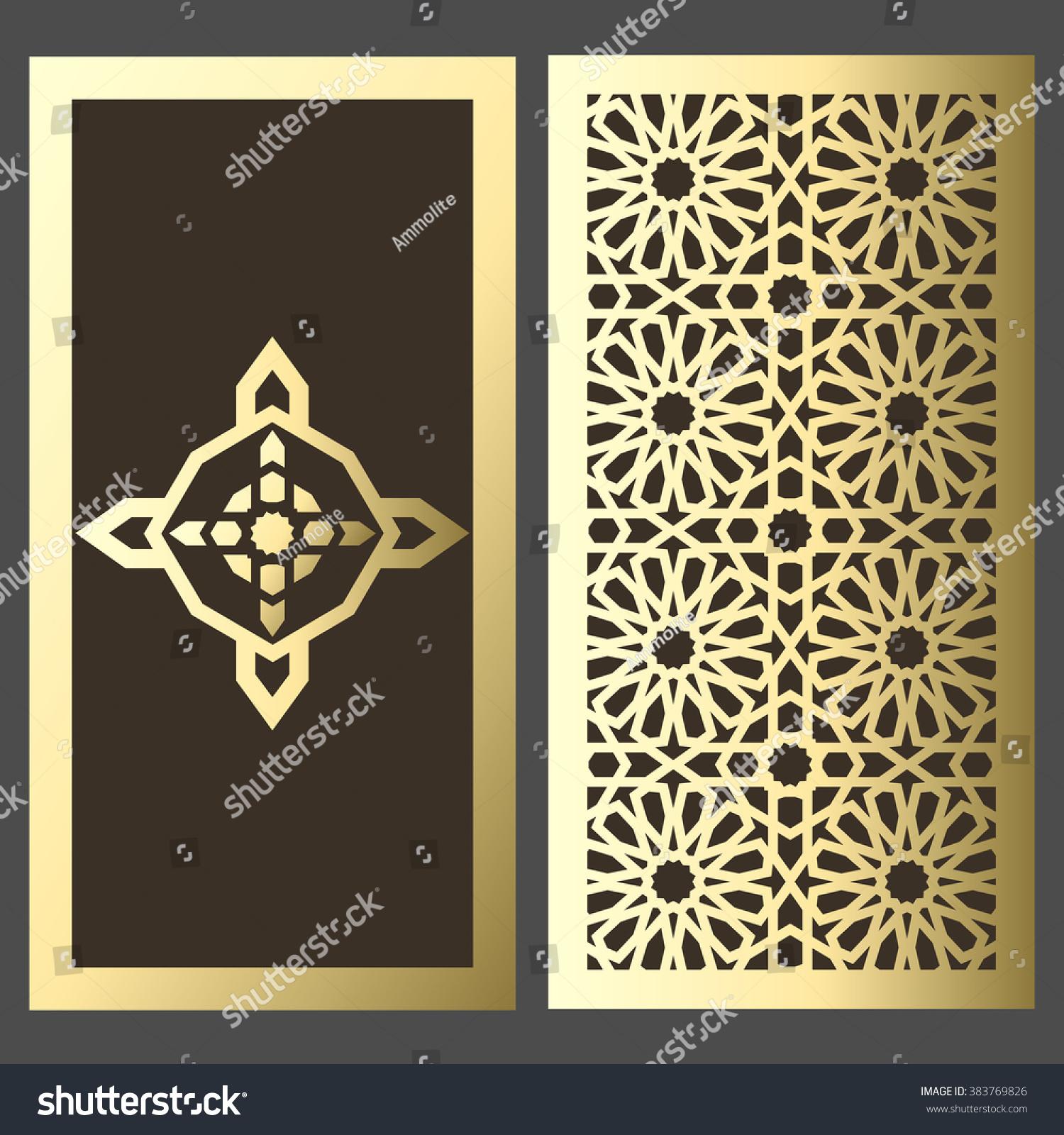 Elegant Luxury Invitation Template Design Card Stock Vector ...