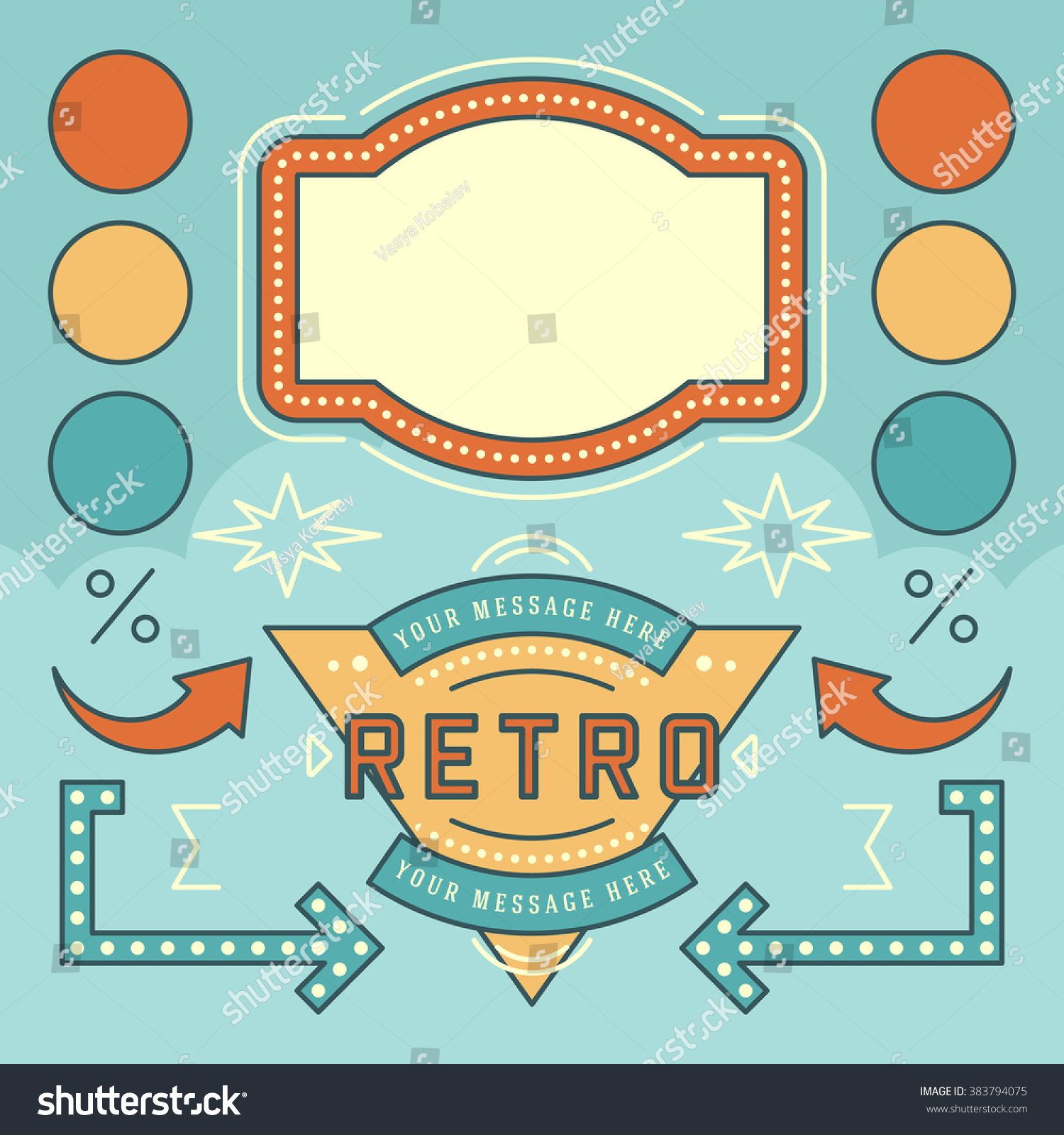 Retro Sign Design
