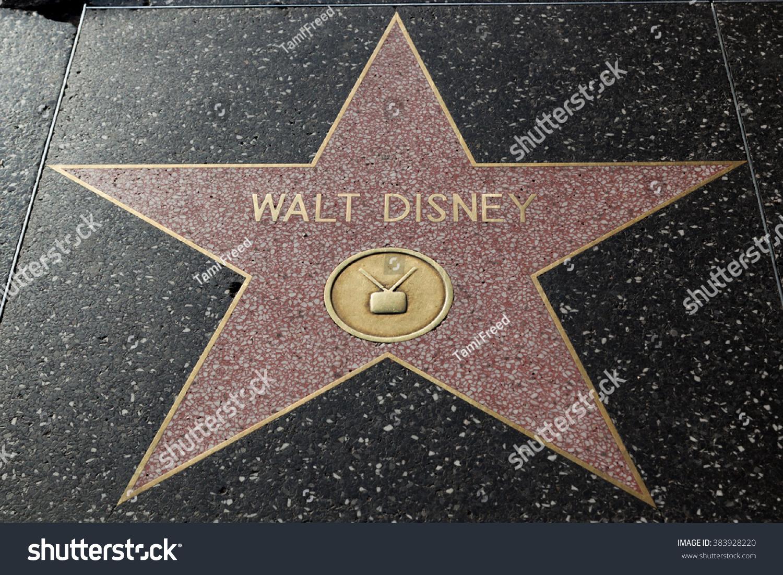 hollywood california february 8 2015 walt stock photo