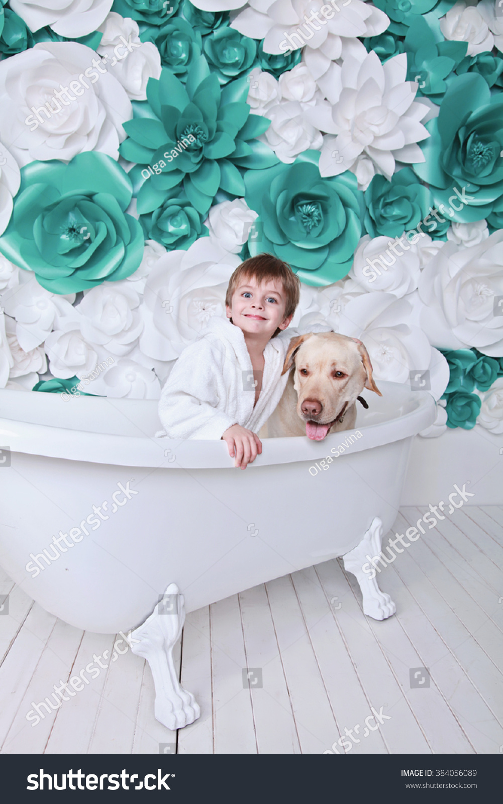 Little Cute 4 Years Boy Funny Face Stock Photo (Edit Now) 384056089 ...