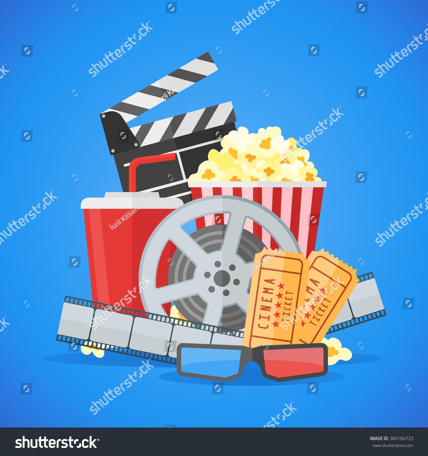 royalty free cinema movie poster design template 384166723 stock