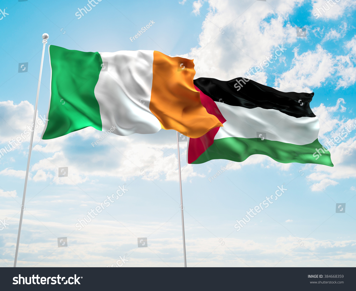 stock-photo-ireland-palestine-flags-are-
