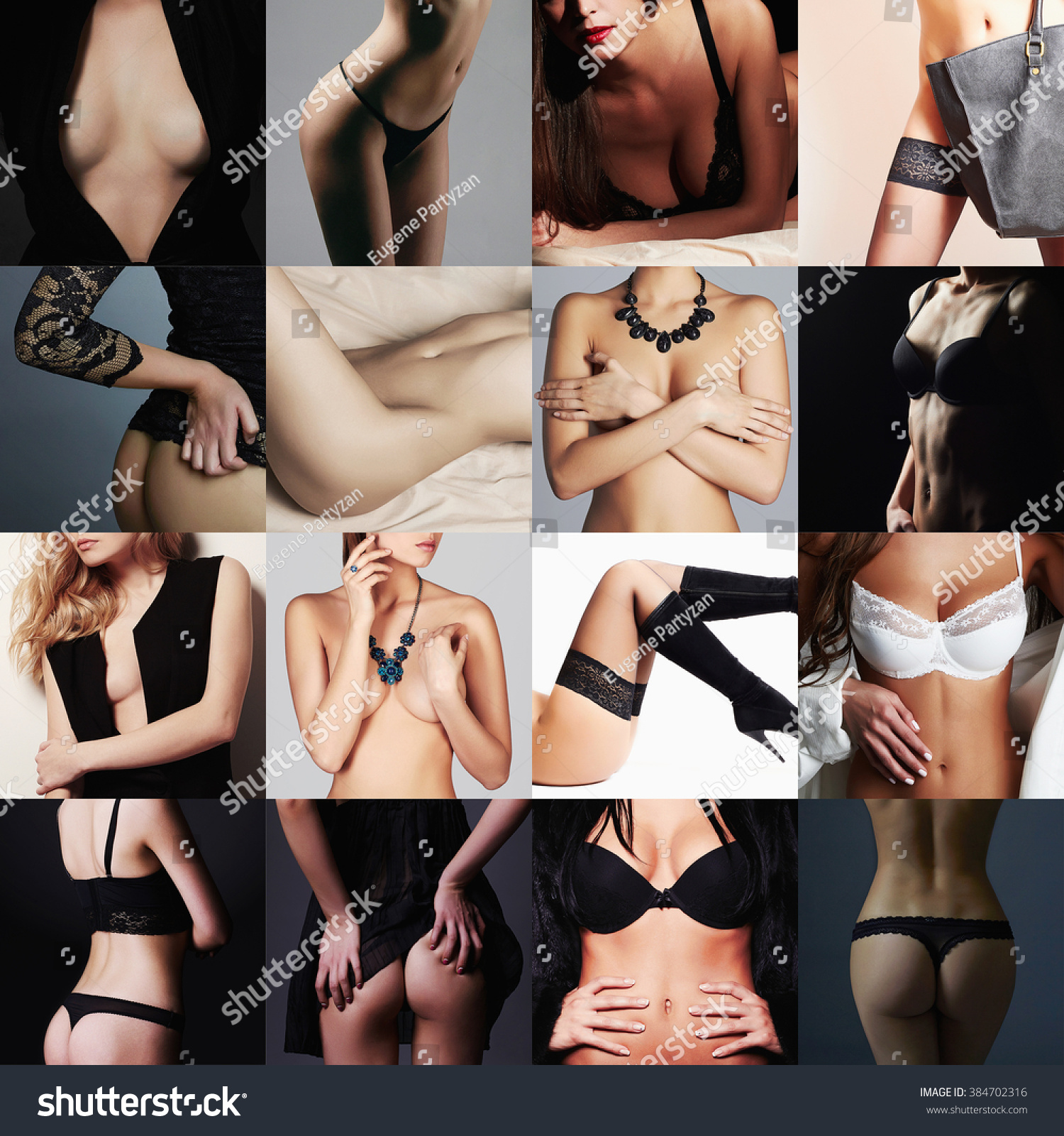 from Axel naked girls are collage