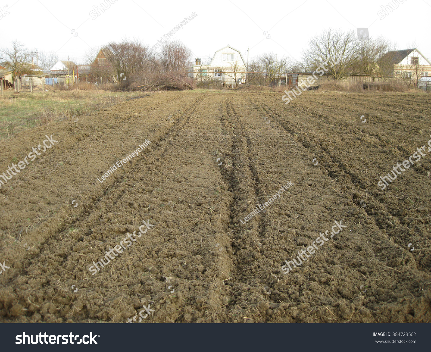 Disc Harrow Plow The Garden Private Infield Caring For The Soil