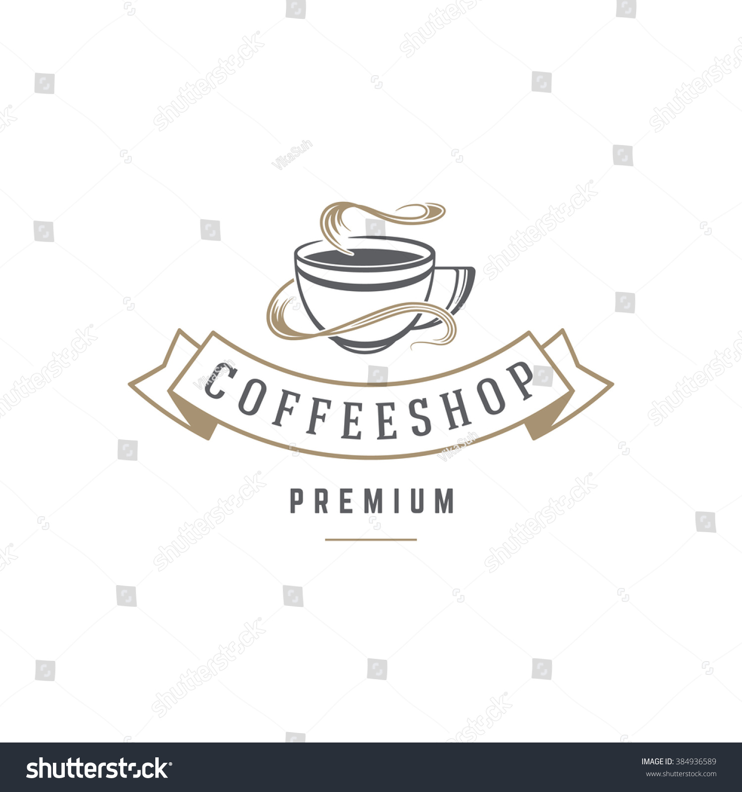 Art logo logo s coffee logo coffee shop coffee design shop logo coffee - Coffee Shop Logo Template Coffee Cup Or Tea Silhouette Isolated On White Background Vector