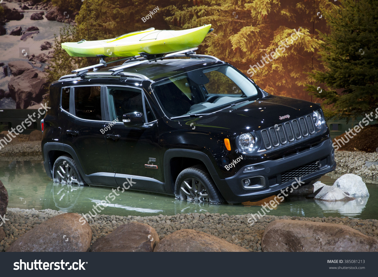 chicago il february 15 jeep renegade stock photo (edit now