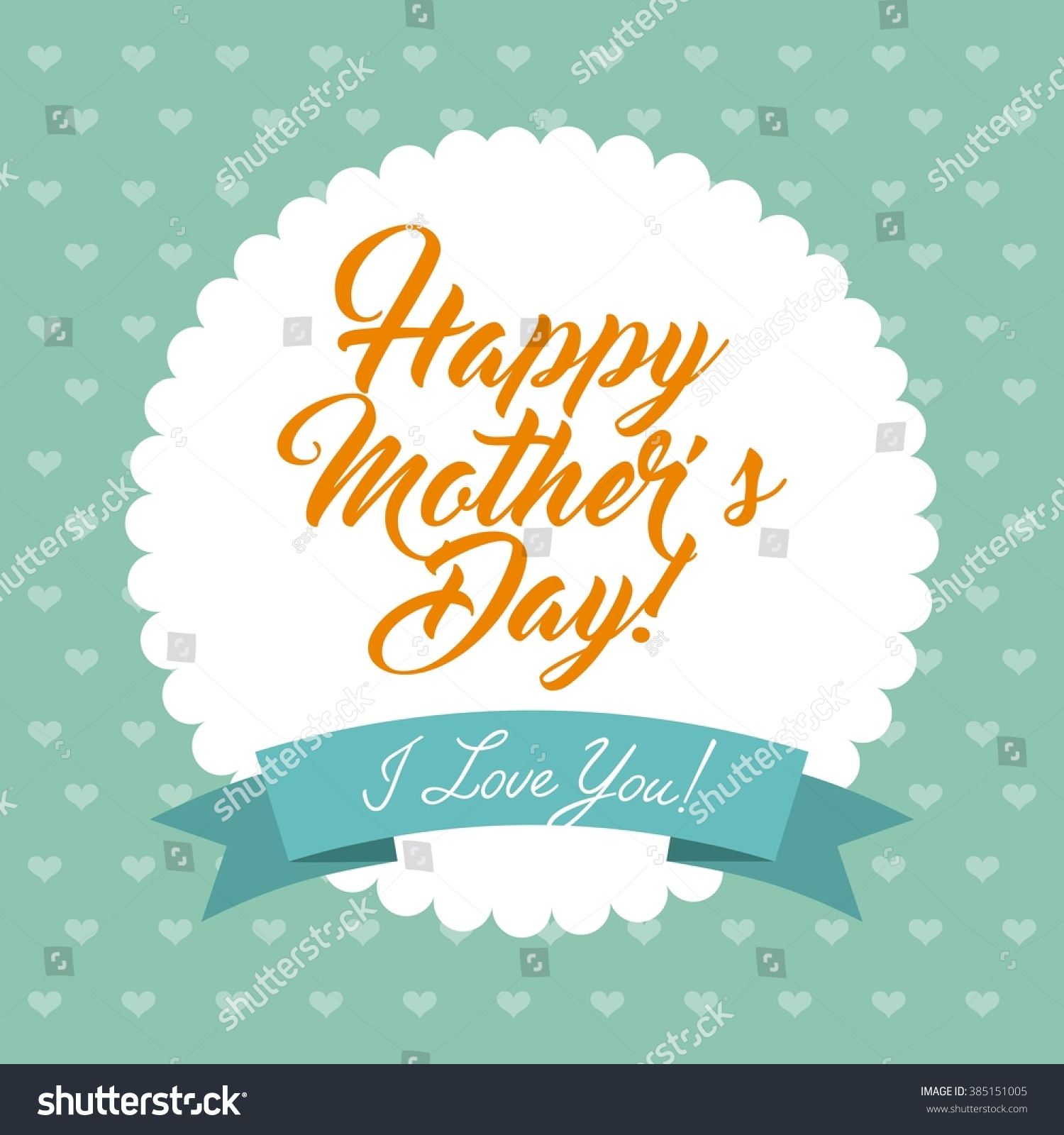 happy mothers day design stock vector 385151005 shutterstock