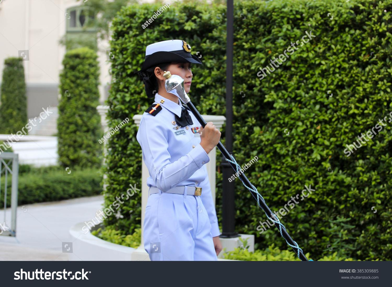 Bangkok Thailand November 1 Naval Nurse Stock Photo (Edit