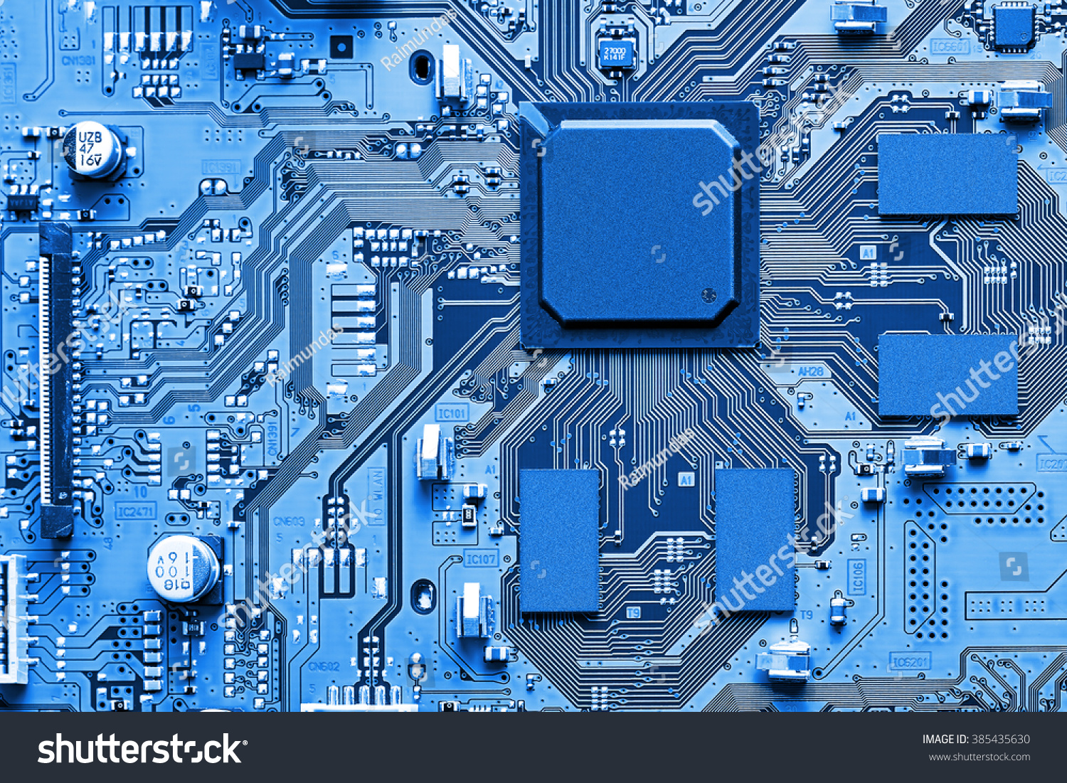 Electronic Circuit Board Close Up Stock Photo Edit Now 385435630 Free Image Of Printed Sciencestockphotoscom