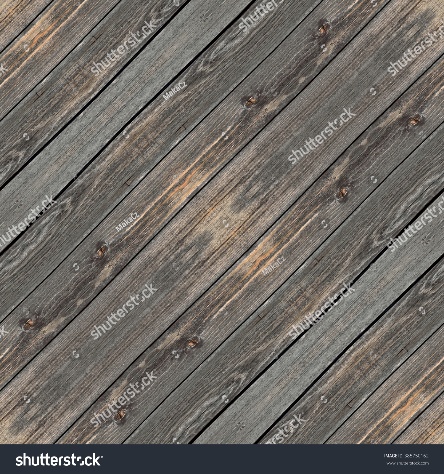 Wooden Desk Gray Brown Seamless Background Stock Illustration