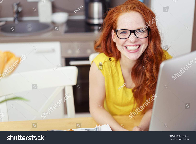 Adult redhead glasses