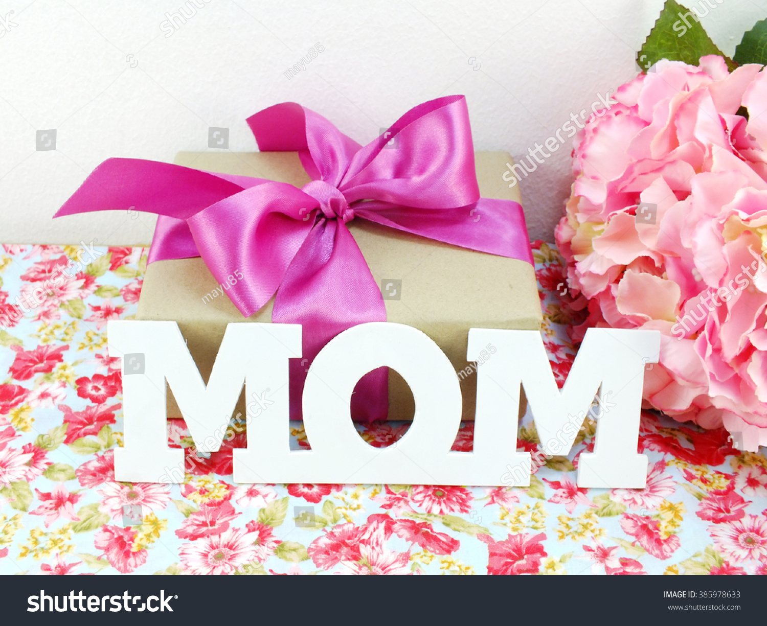 Gifts beautiful bouquet flowers mom mother stock photo royalty free gifts and beautiful bouquet of flowers for mom for mother day or birthday izmirmasajfo