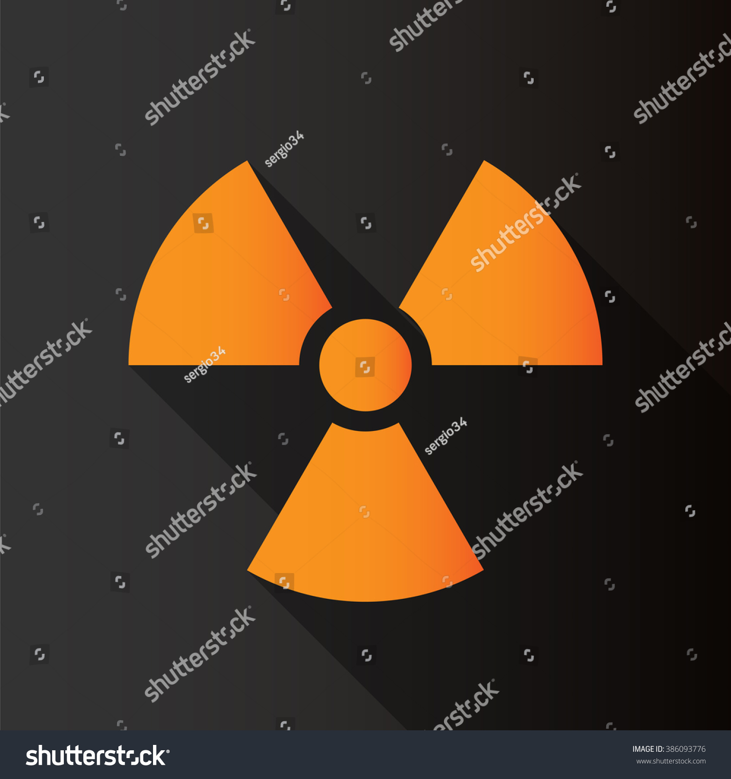 Radioactive symbol text image collections symbol and sign ideas radioactive symbol on black background long stock vector 386093776 radioactive symbol on black background long stock buycottarizona