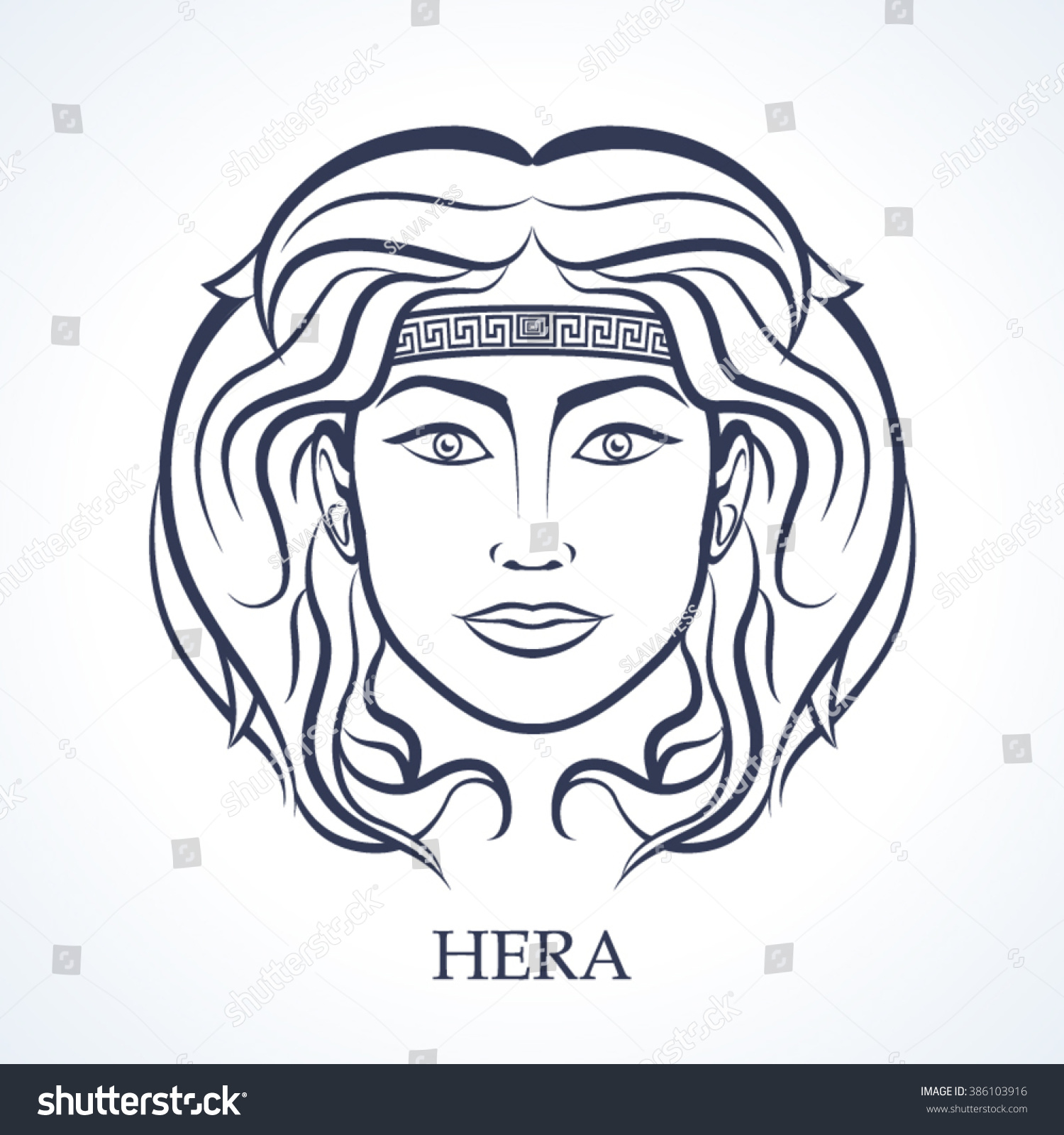 Hera Drawing Head | www.pixshark.com - Images Galleries With A Bite!