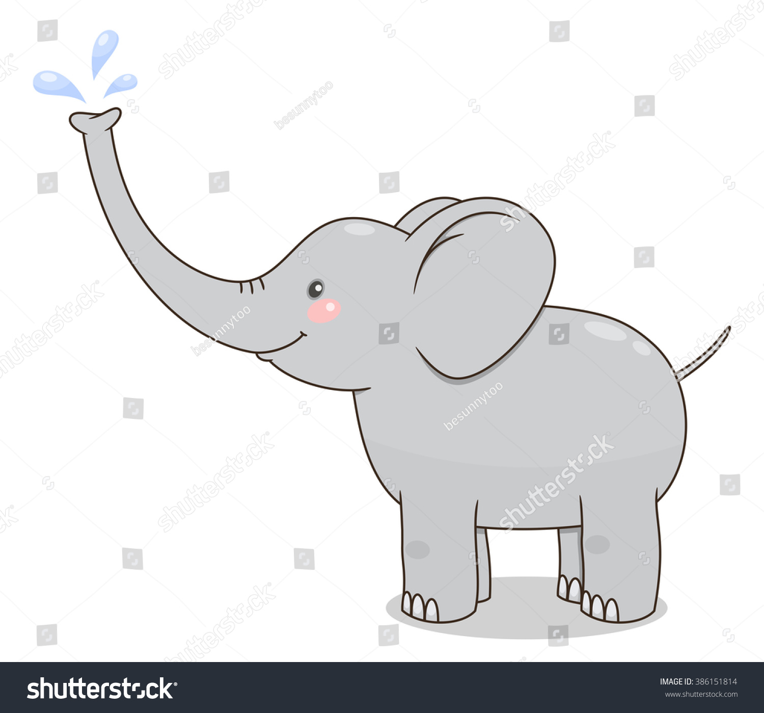 gray splash clip art