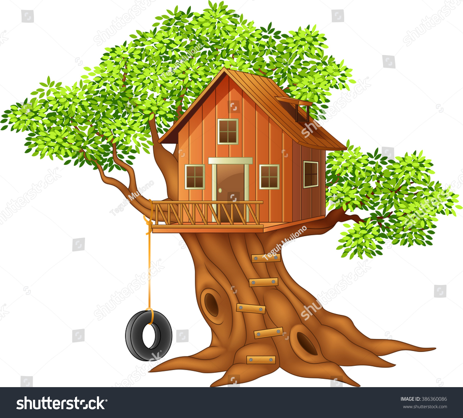 clipart pictures tree house - photo #48